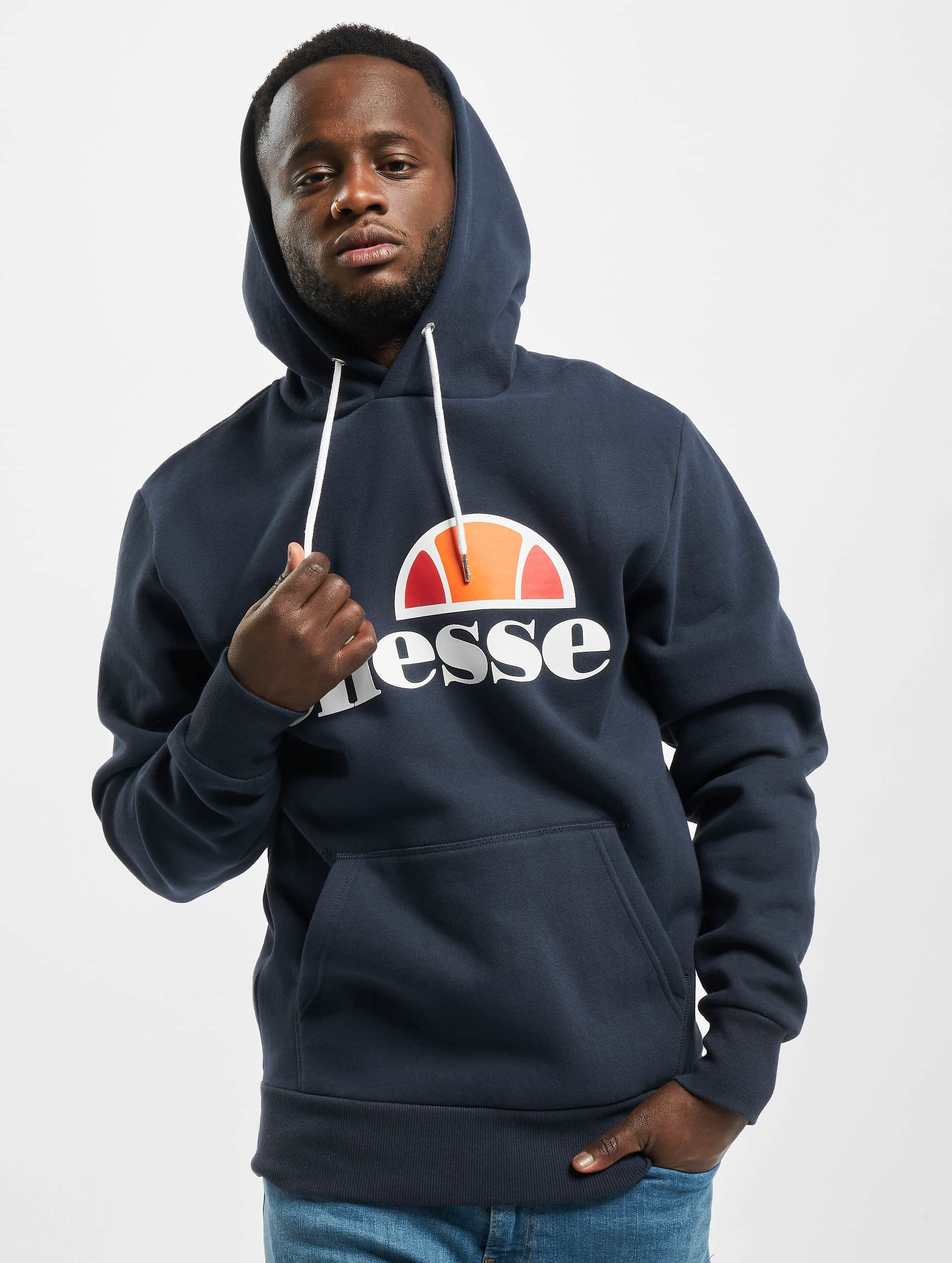 ellesse herren hoody gottero in blau 333272. Black Bedroom Furniture Sets. Home Design Ideas