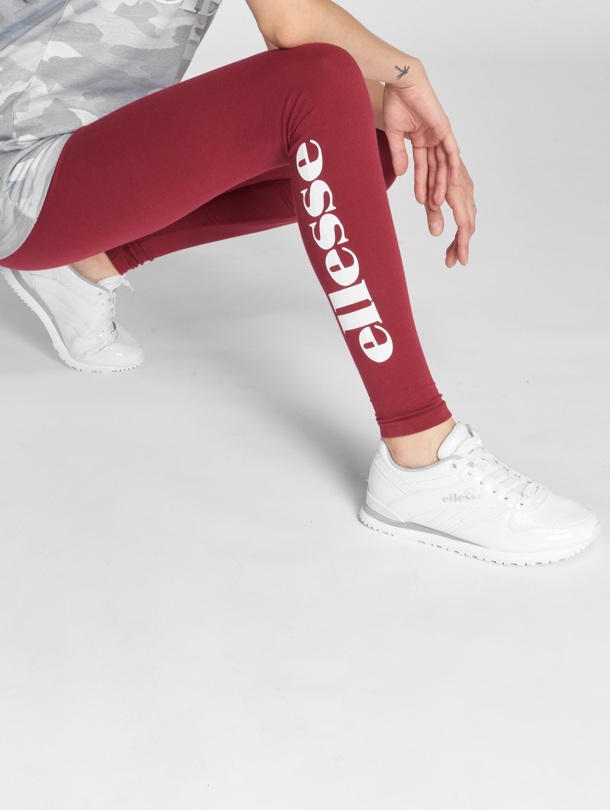 Ellesse Leggings Solos röd