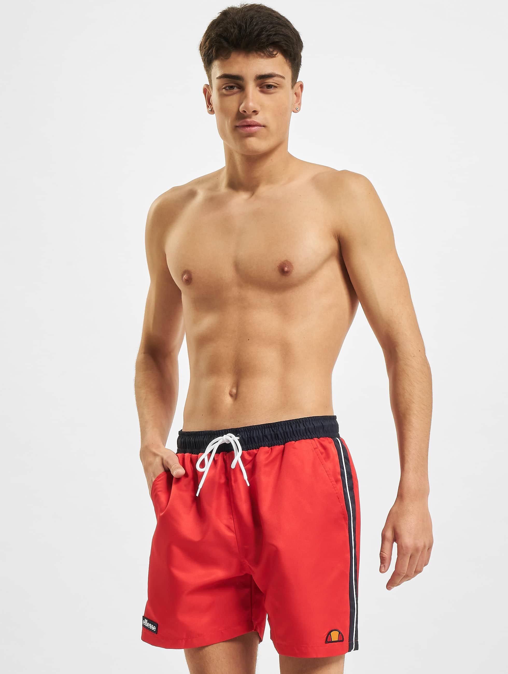 Ellesse Homme Swim Short Maillot CAGLIARI Red