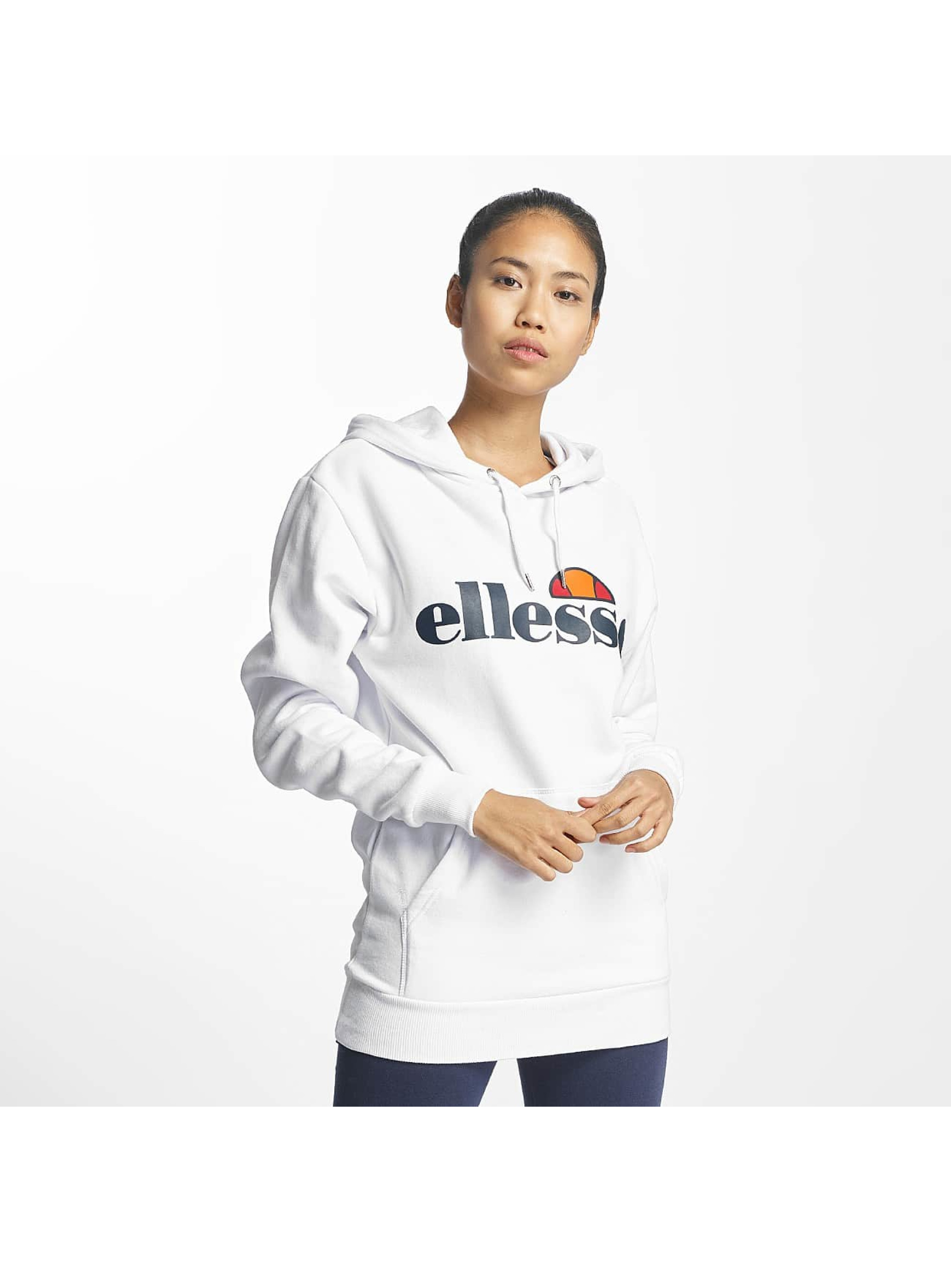 ellesse torices blanc femme sweat capuche 417802. Black Bedroom Furniture Sets. Home Design Ideas