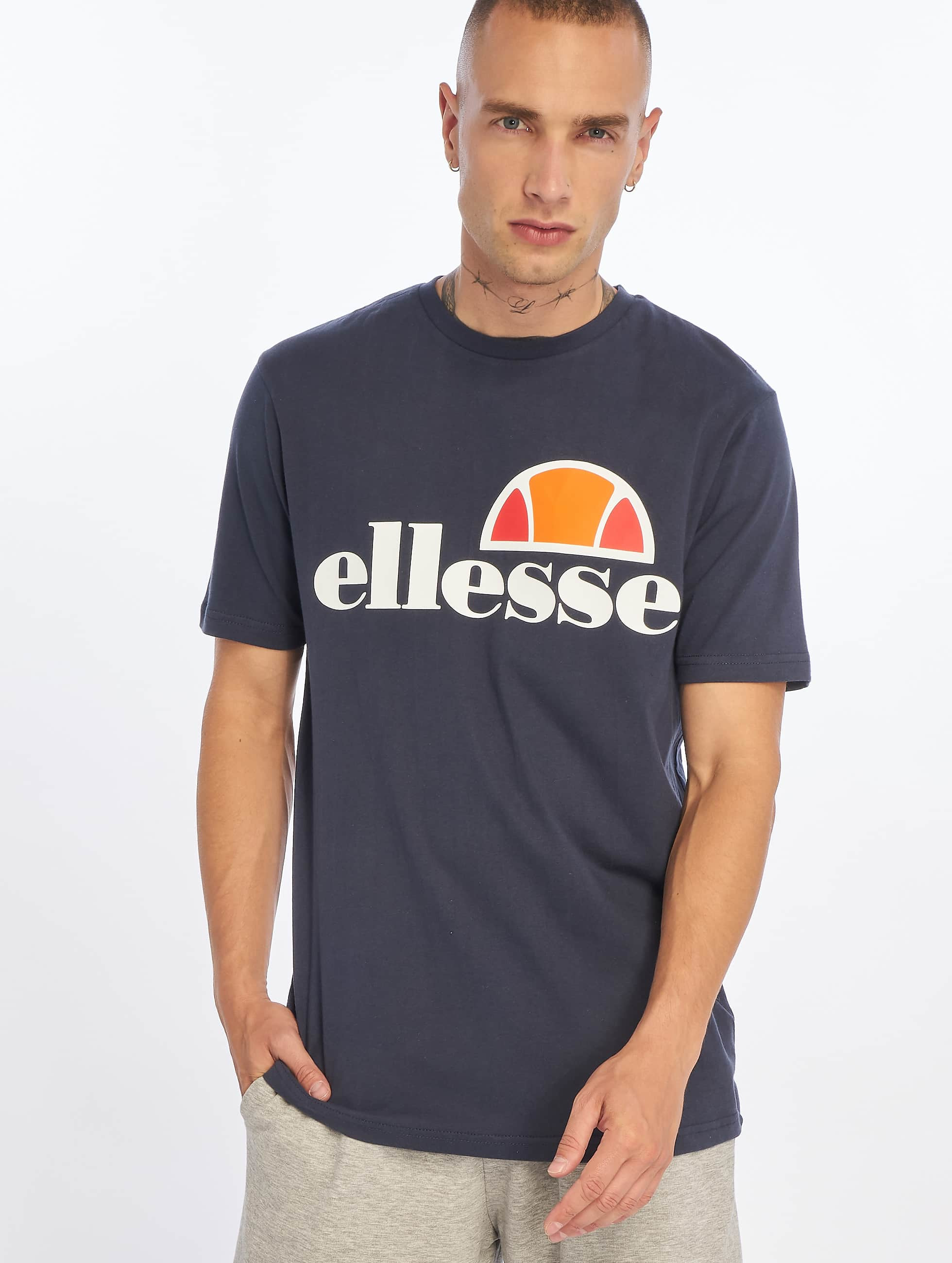 ellesse prado bleu homme t shirt 333176. Black Bedroom Furniture Sets. Home Design Ideas