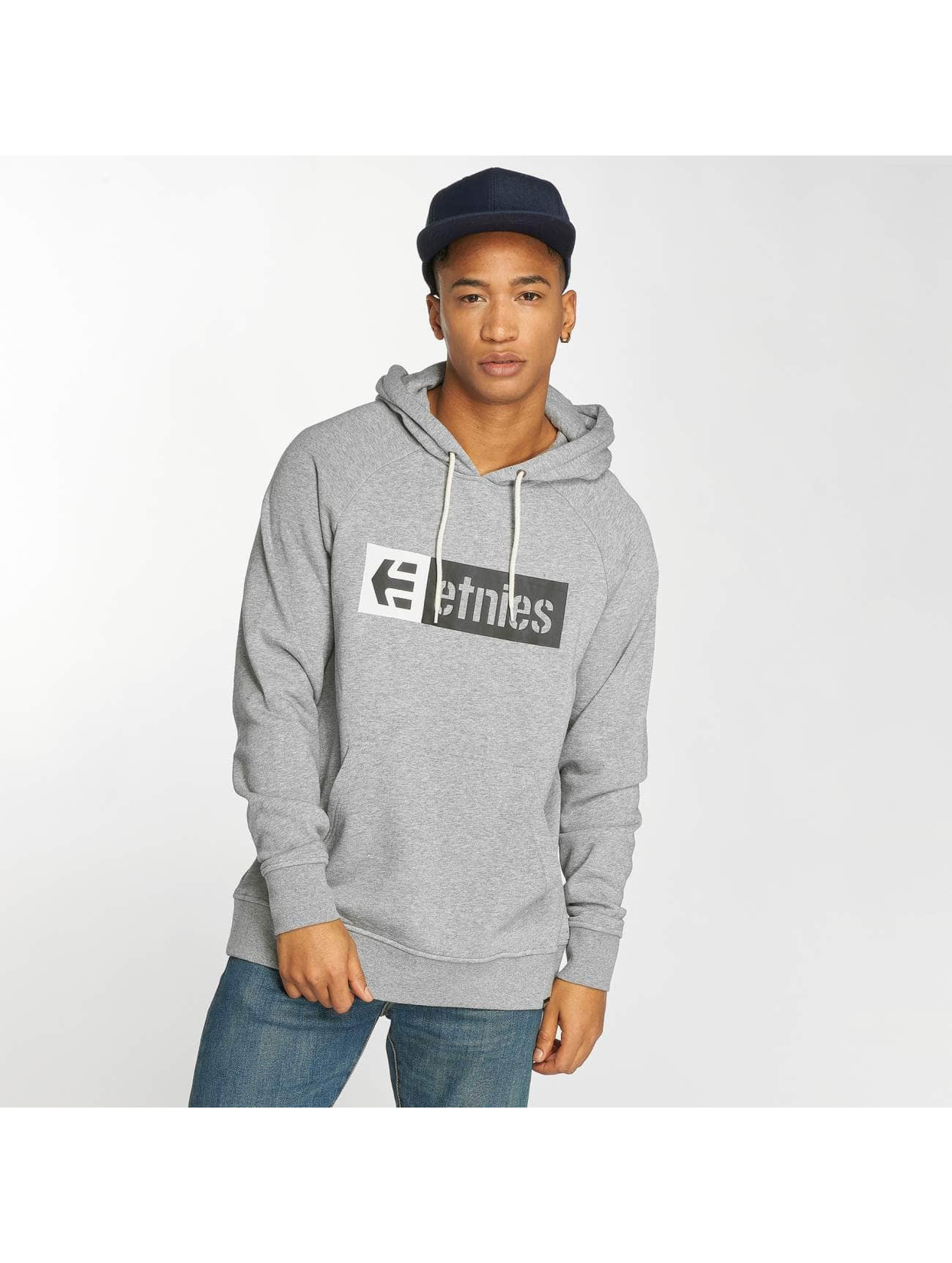 Etnies Sweat capuche New Box gris