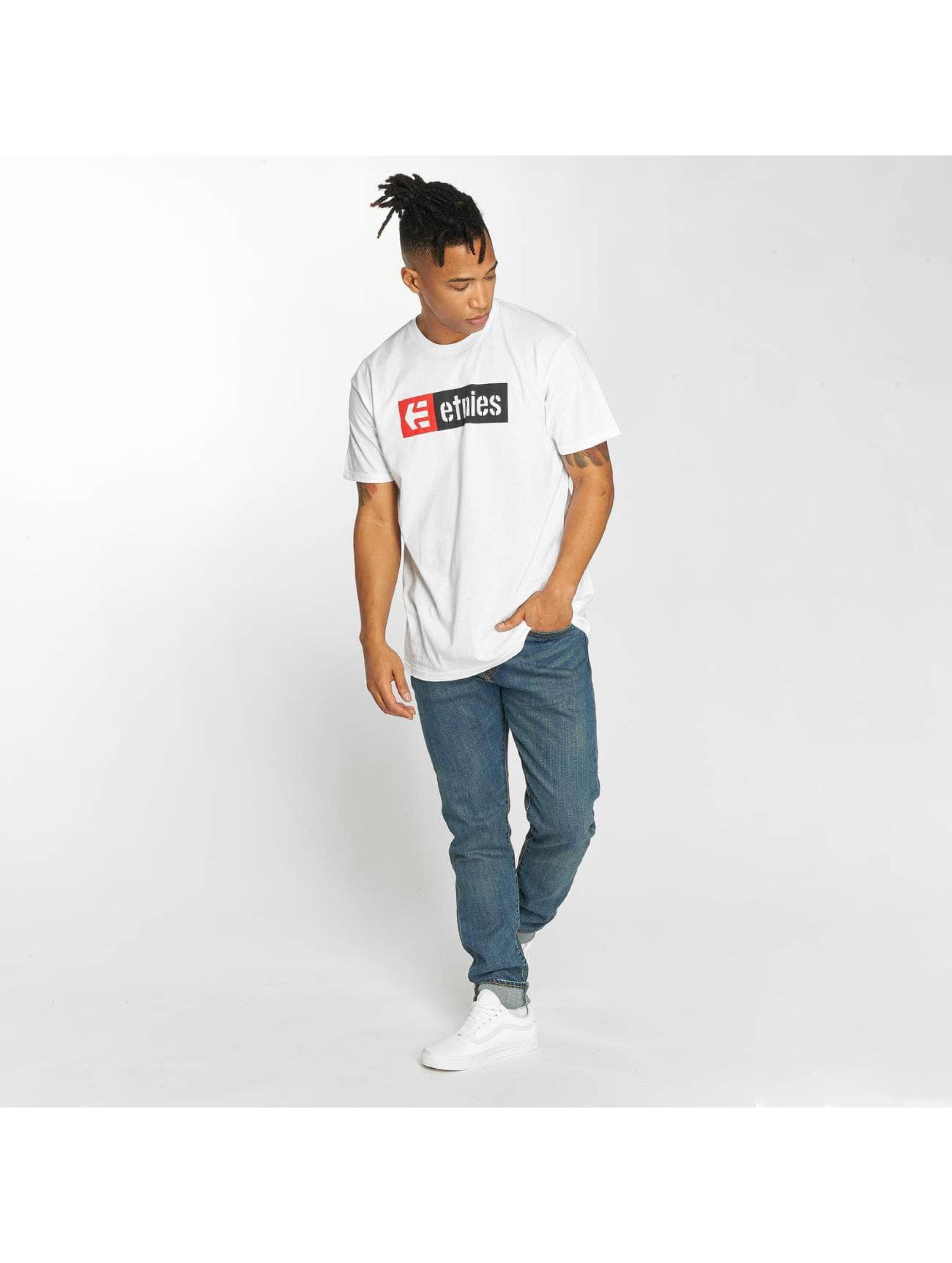 Etnies T-Shirt New Box blanc