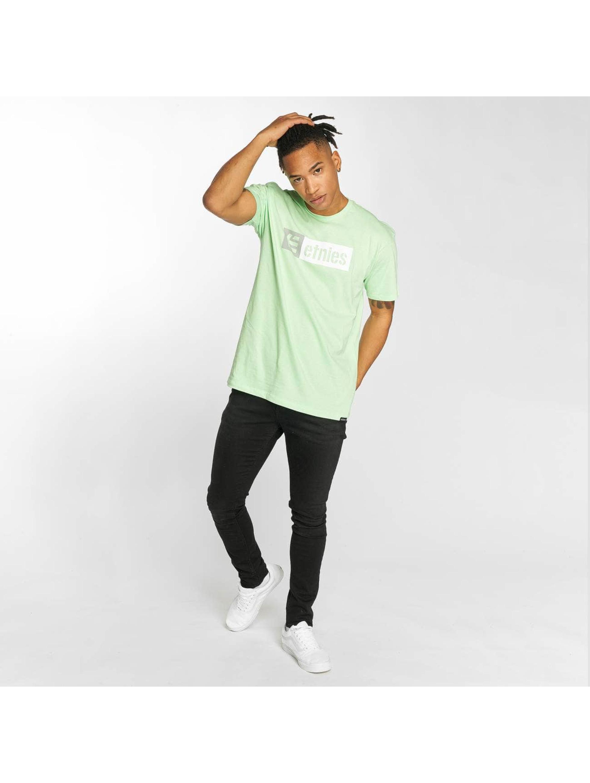 Etnies T-Shirt New Box grün