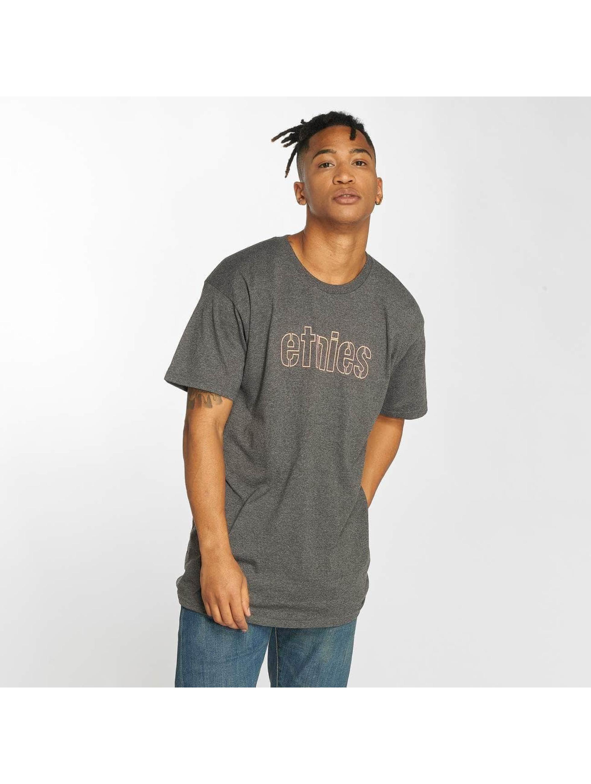 Etnies T-Shirt Mod Stencil noir