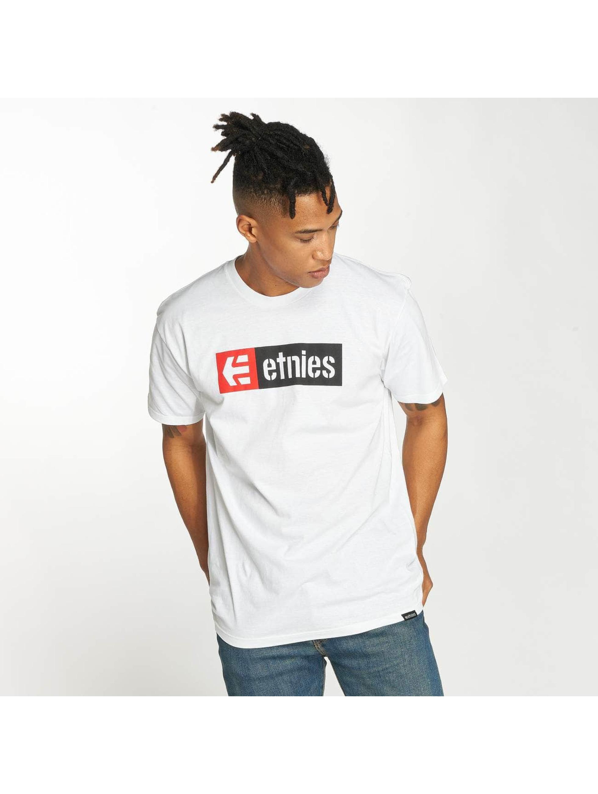 Etnies T-Shirt New Box white