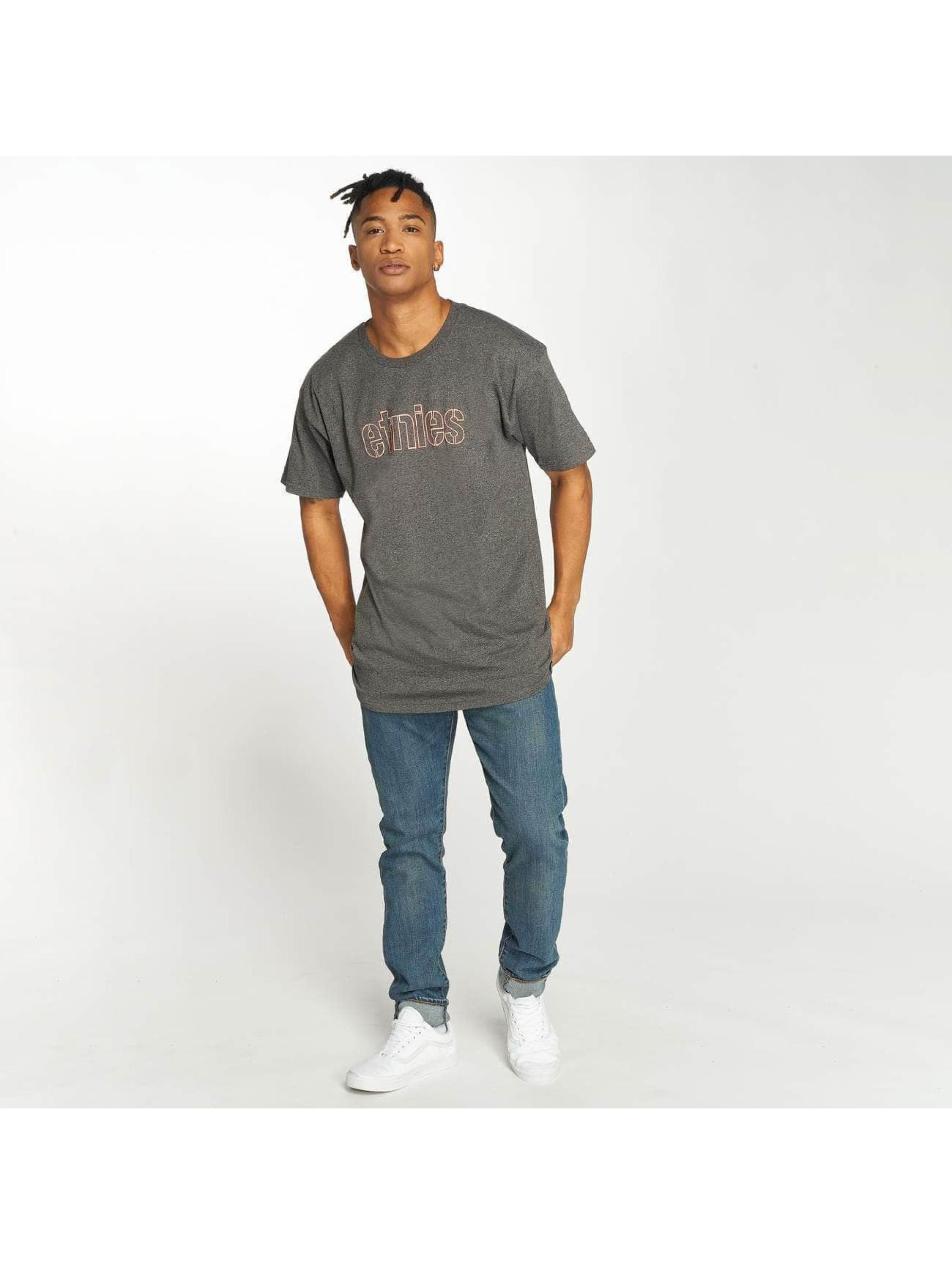 Etnies T-Shirty Mod Stencil czarny