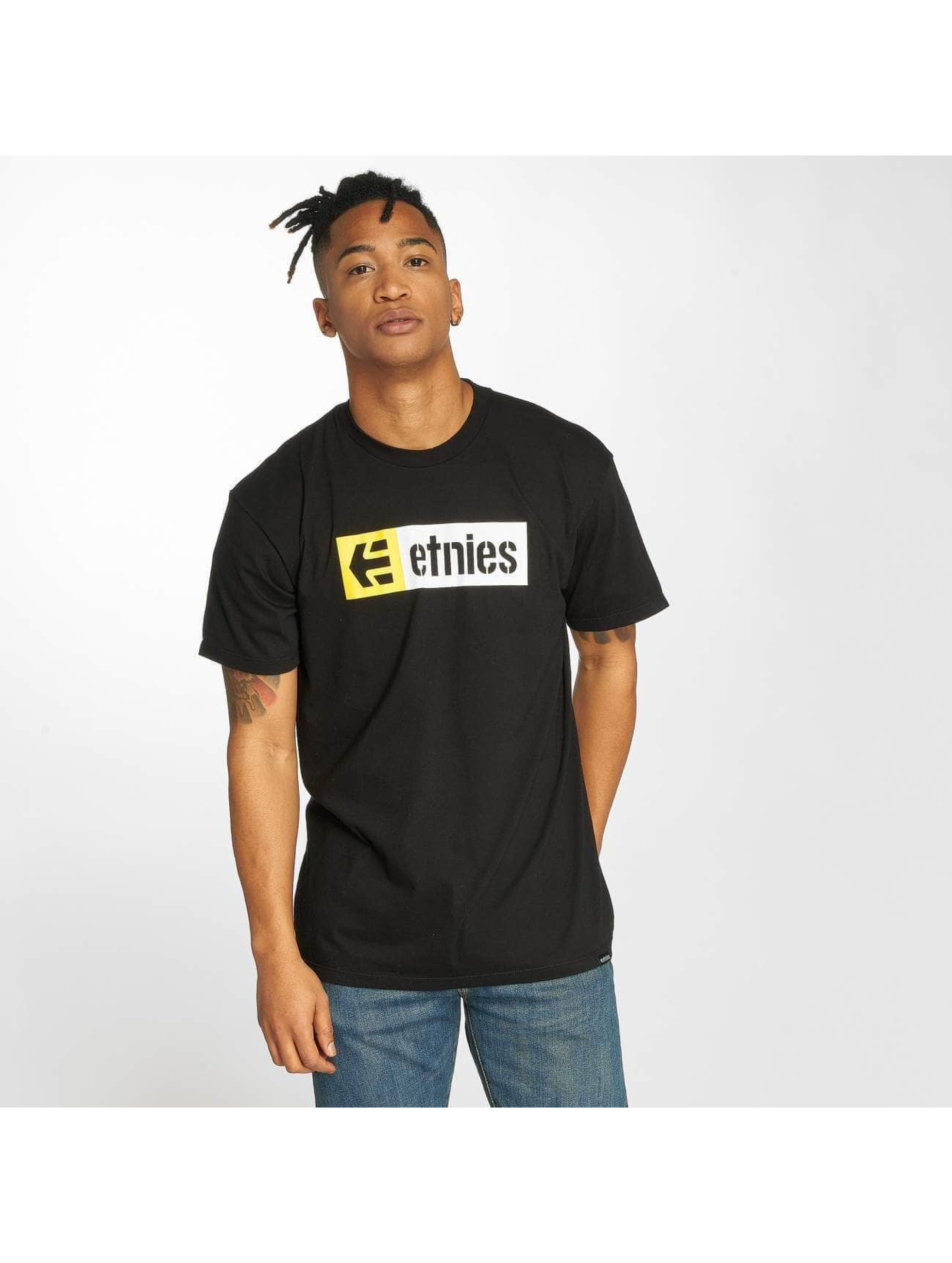 Etnies T-Shirty New Box czarny