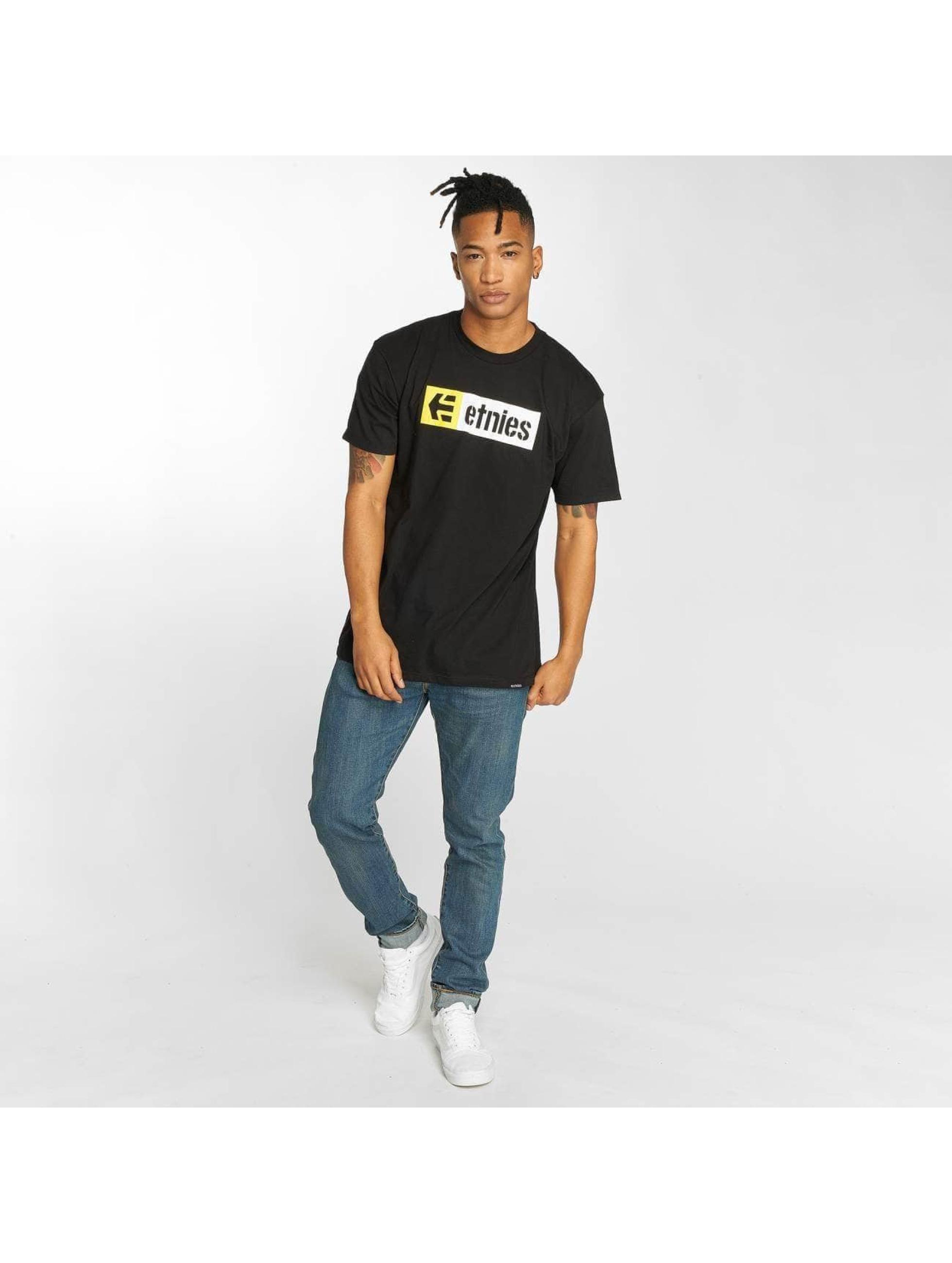 Etnies T-skjorter New Box grå