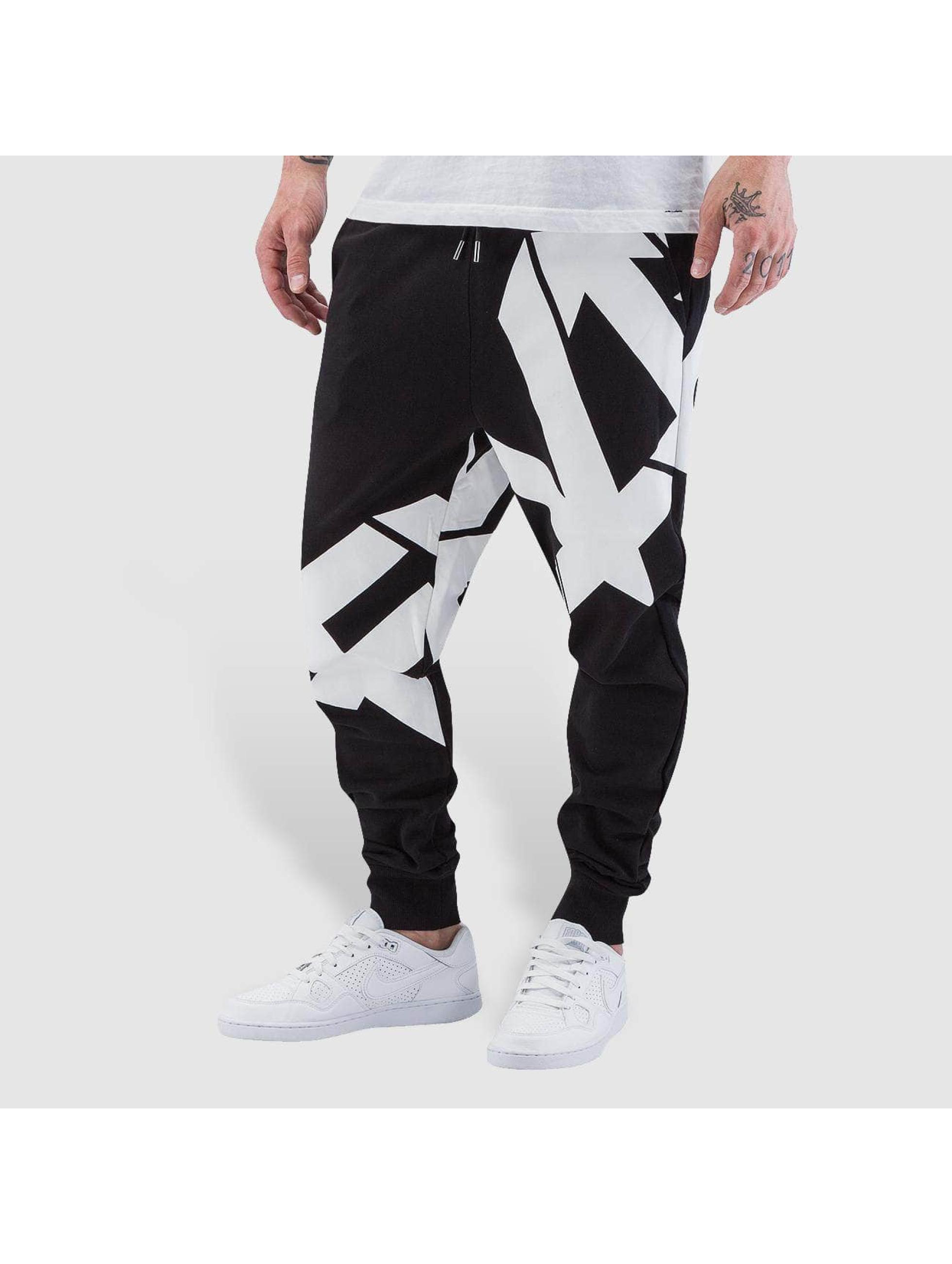 EVISU Спортивные брюки Seagull черный