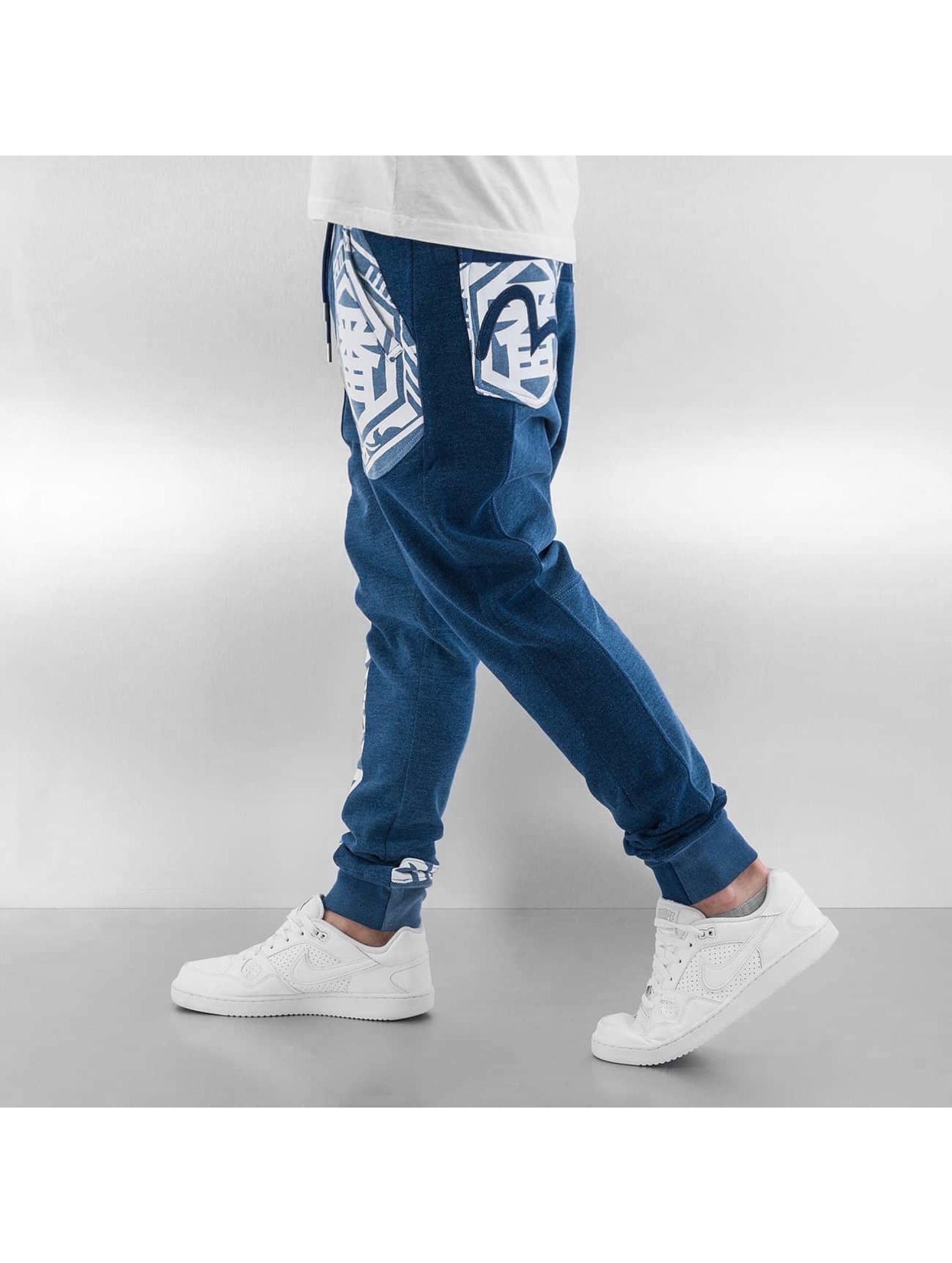 EVISU Sweat Pant Ichiban blue