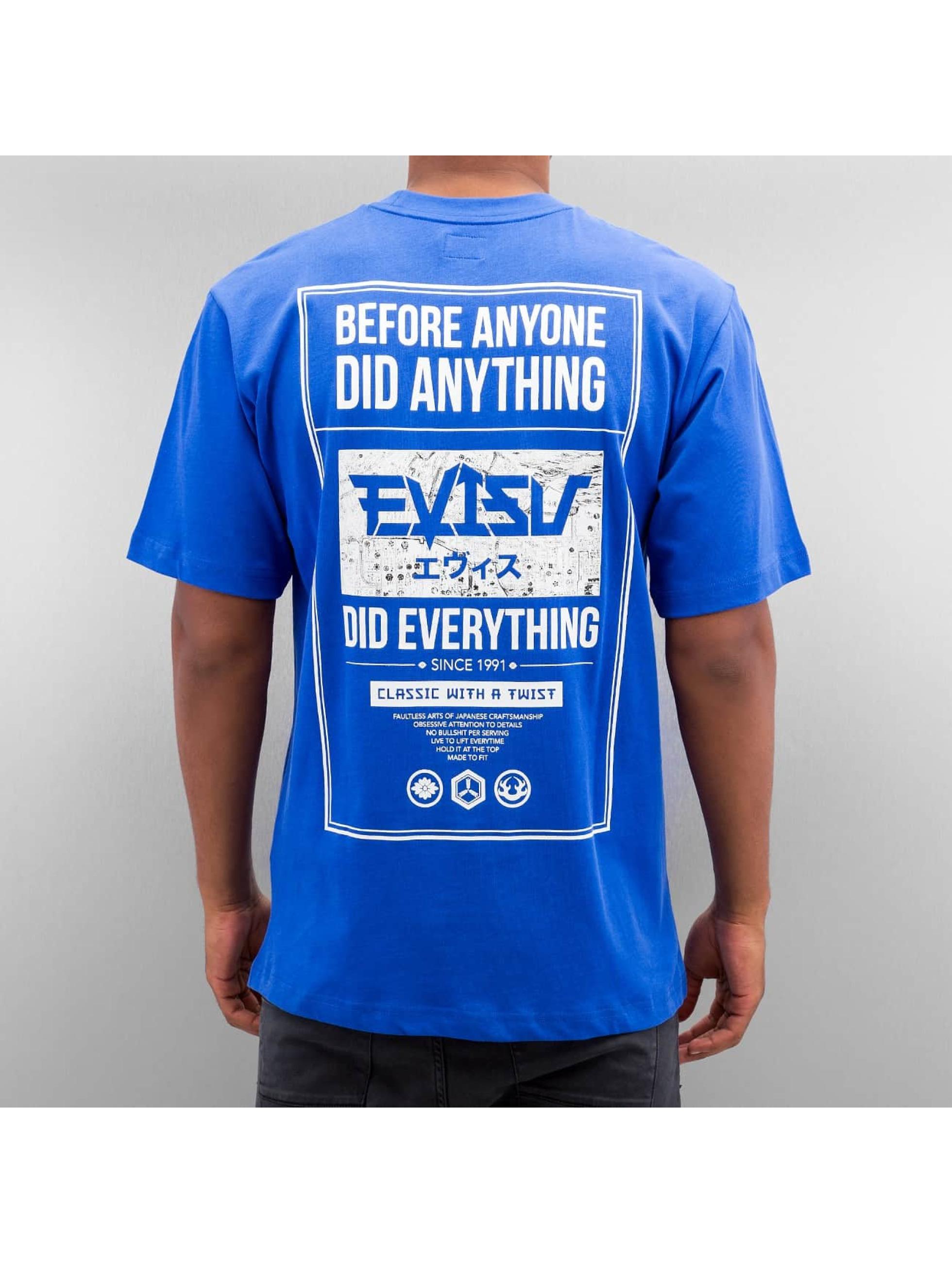 EVISU T-Shirty Seagull niebieski