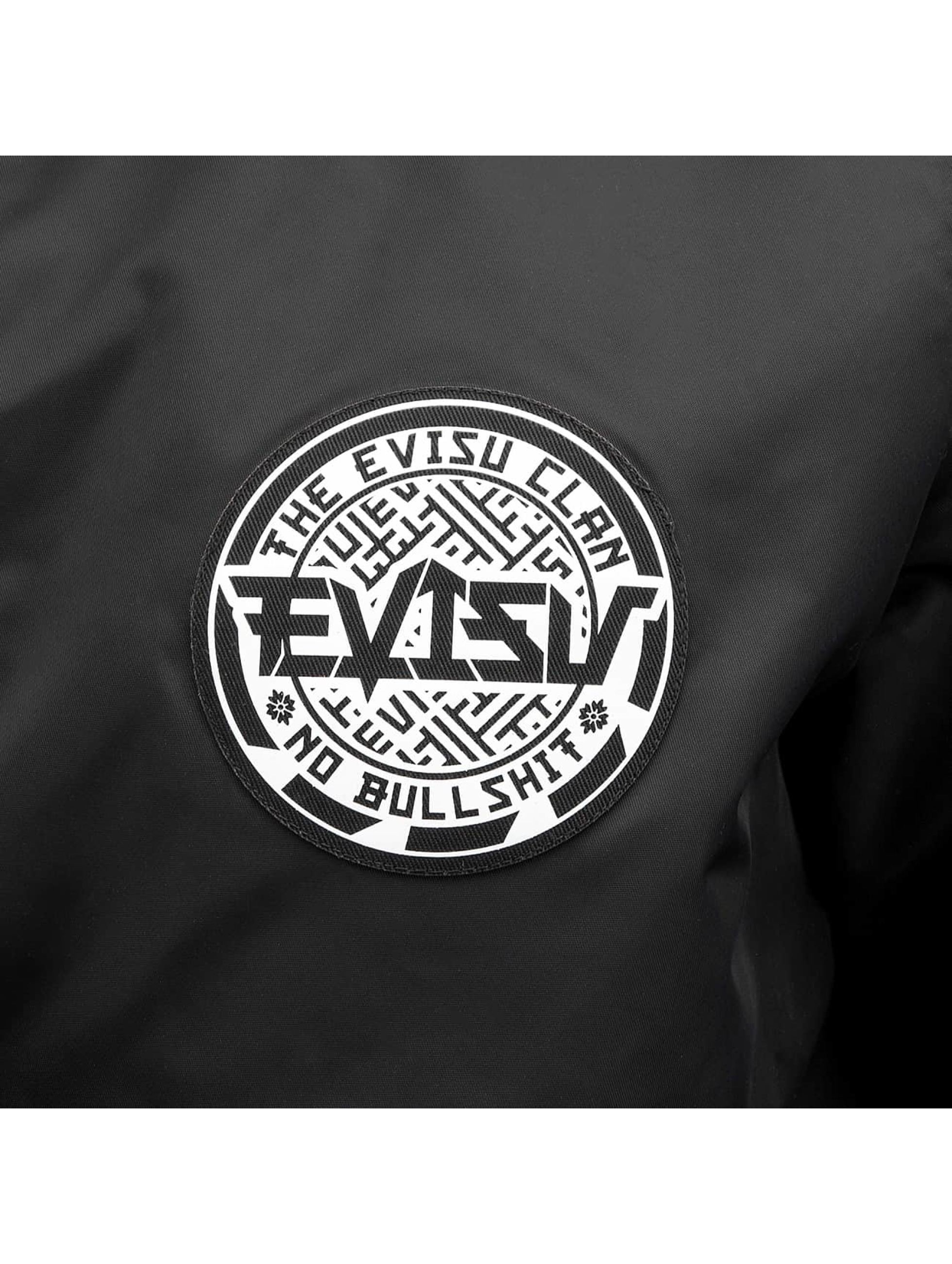 EVISU Übergangsjacke Fight The Karma schwarz