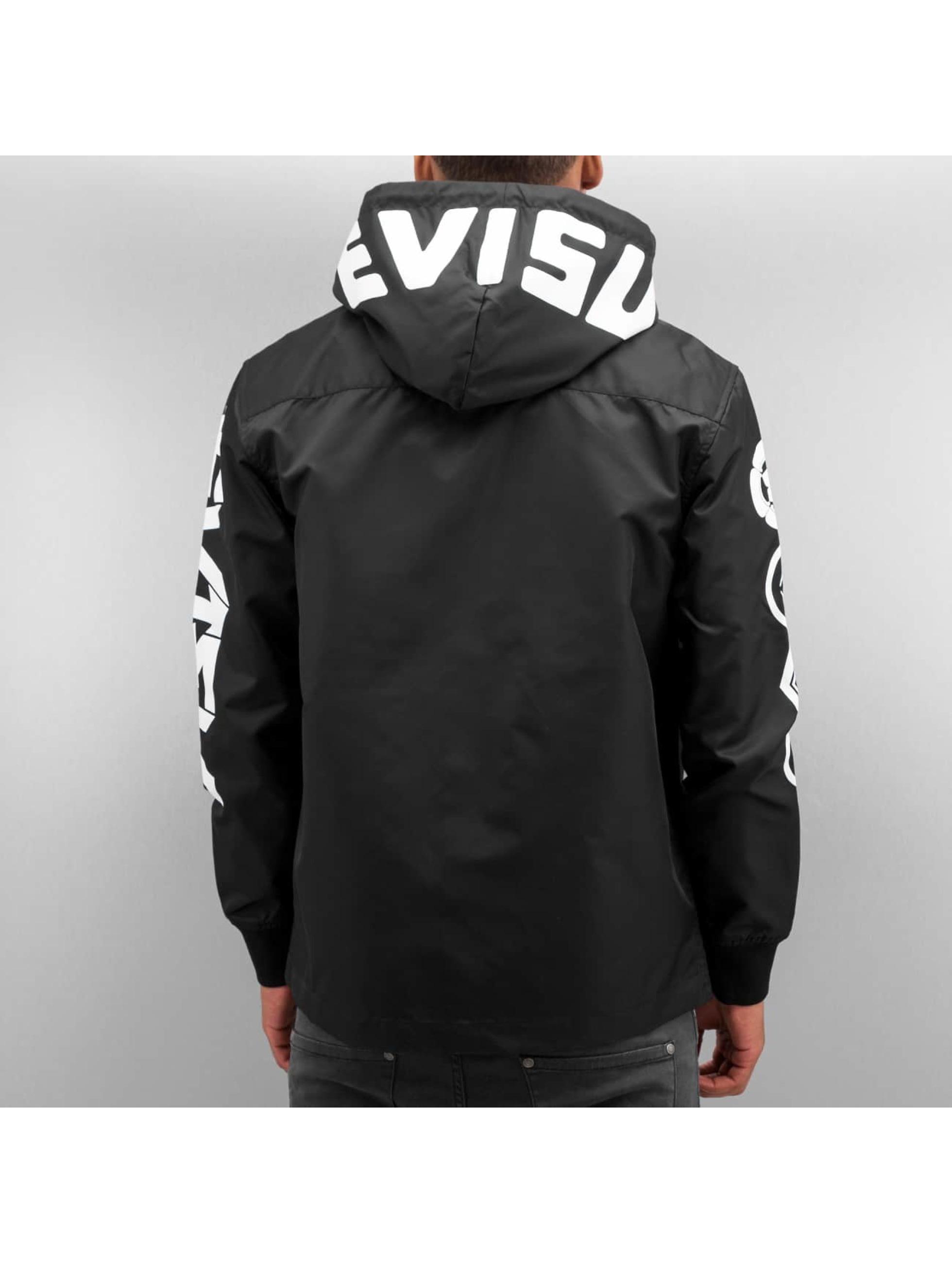 EVISU Veste mi-saison légère Multi Logo noir