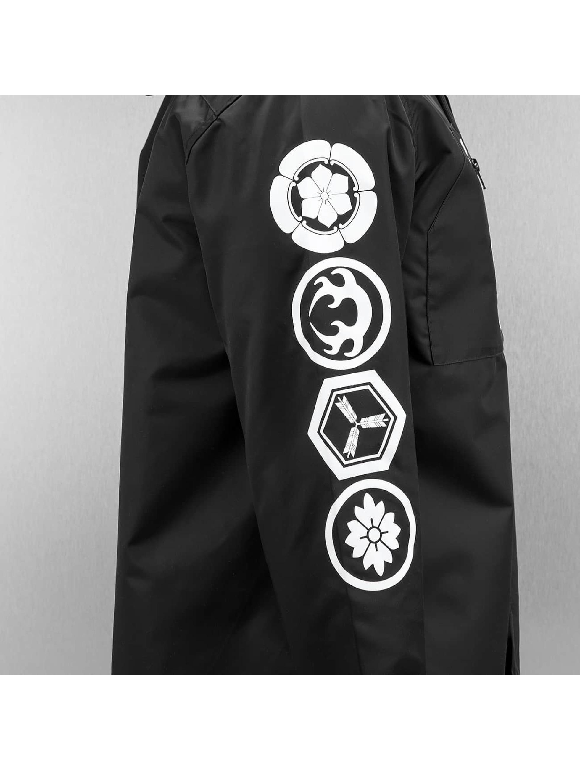 EVISU Zomerjas Multi Logo zwart