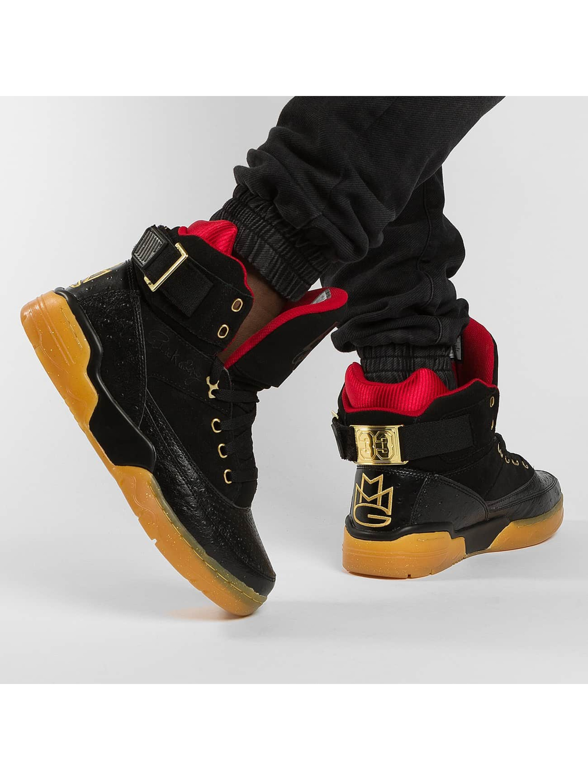Ewing Athletics Tennarit 33HI Rick Ross MMG musta
