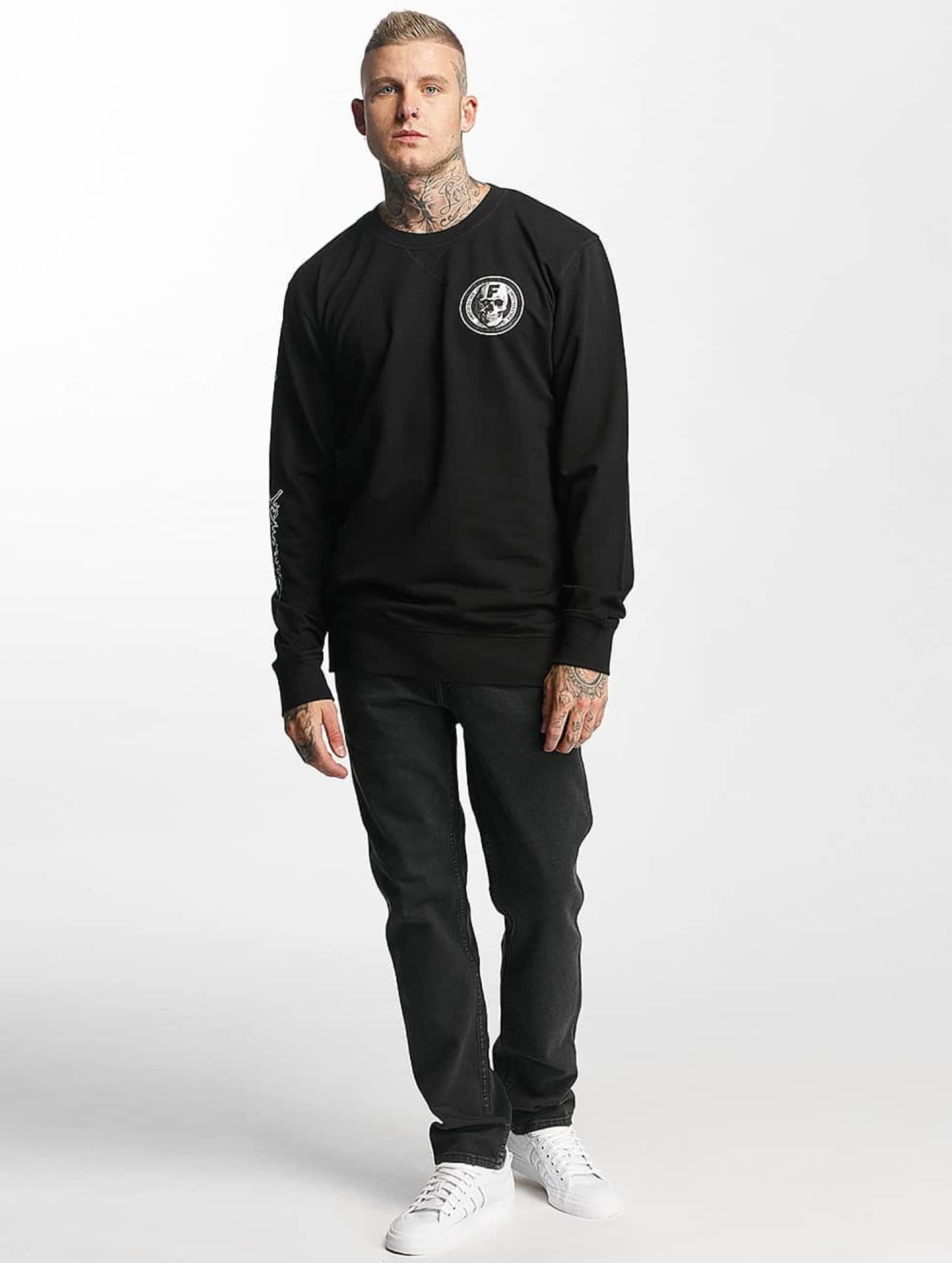 Famous Stars and Straps Jumper Heavy Hitters black