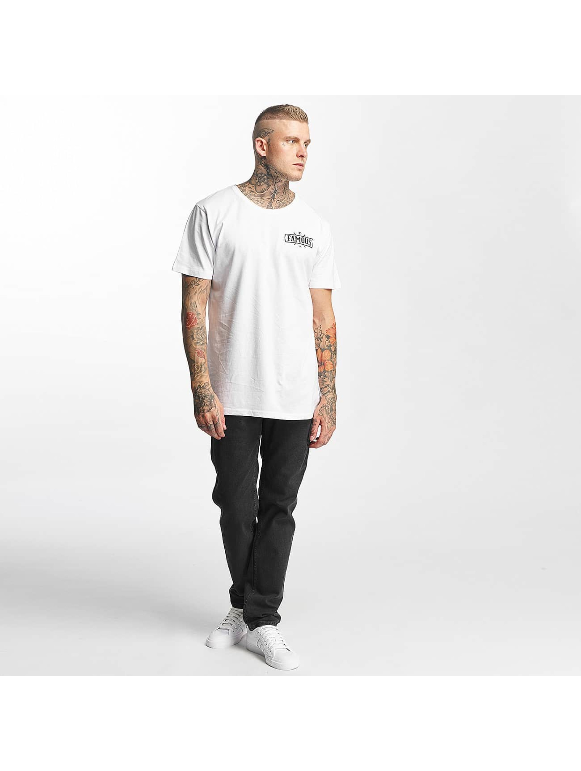 Famous Stars and Straps T-Shirt Chaos blanc