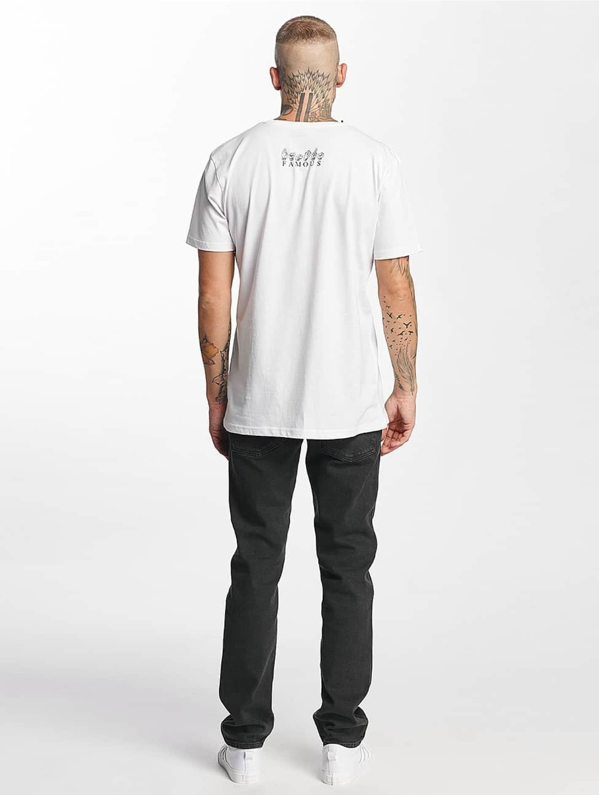 Famous Stars and Straps T-Shirt FMS Sign blanc
