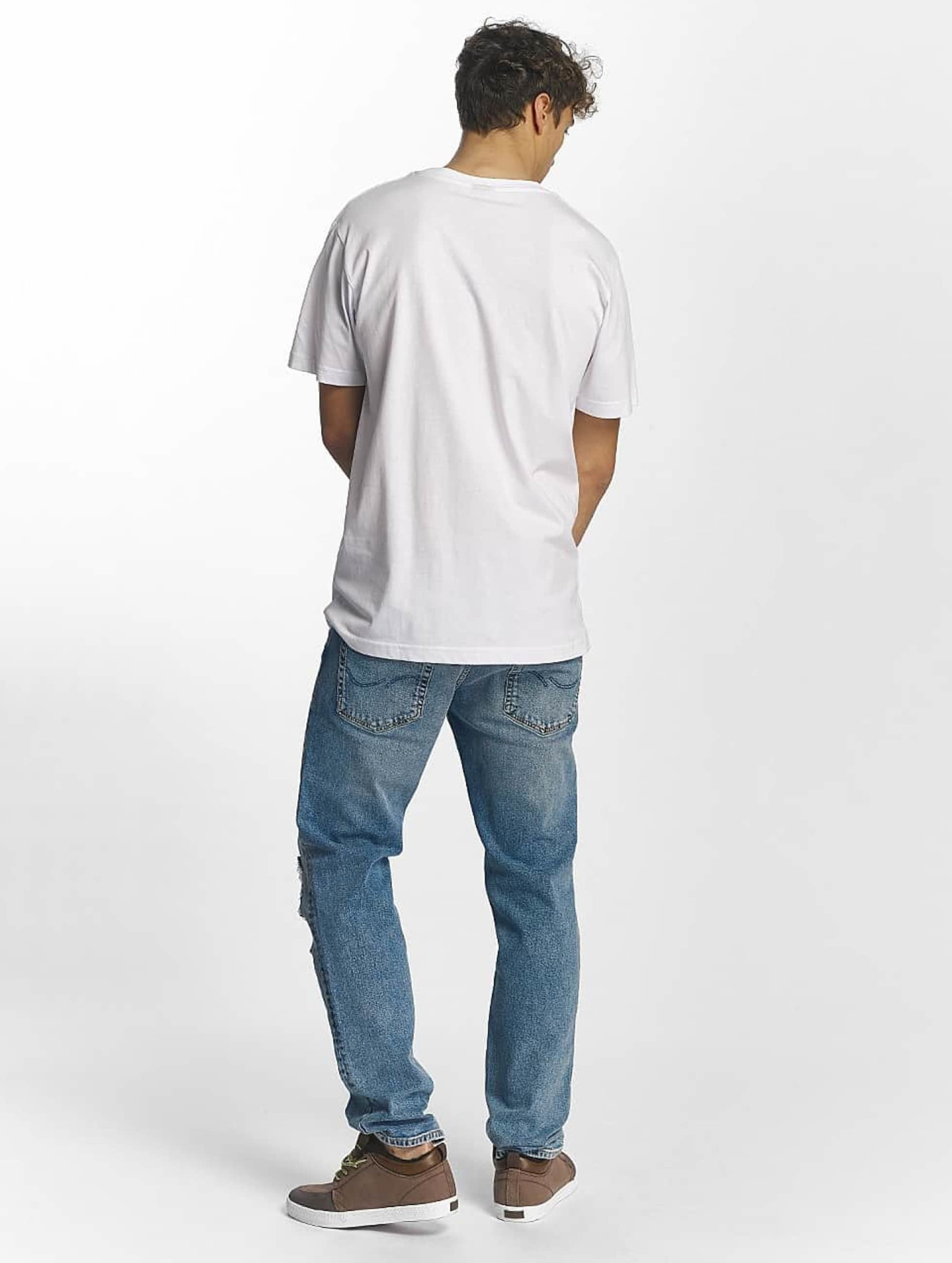Famous Stars and Straps T-Shirt Famous Box Logo blanc