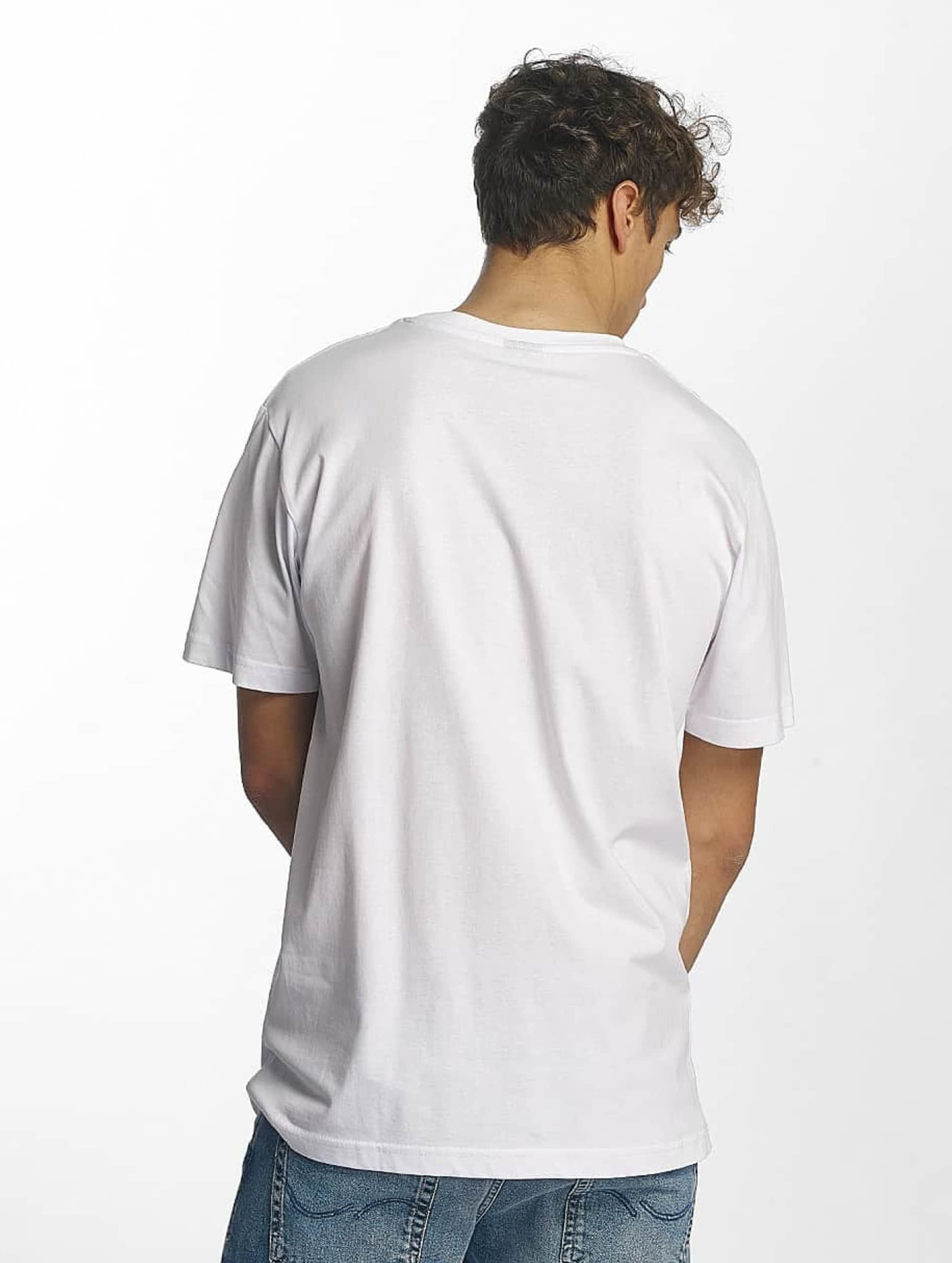 Famous Stars and Straps T-Shirty Famous Box Logo bialy