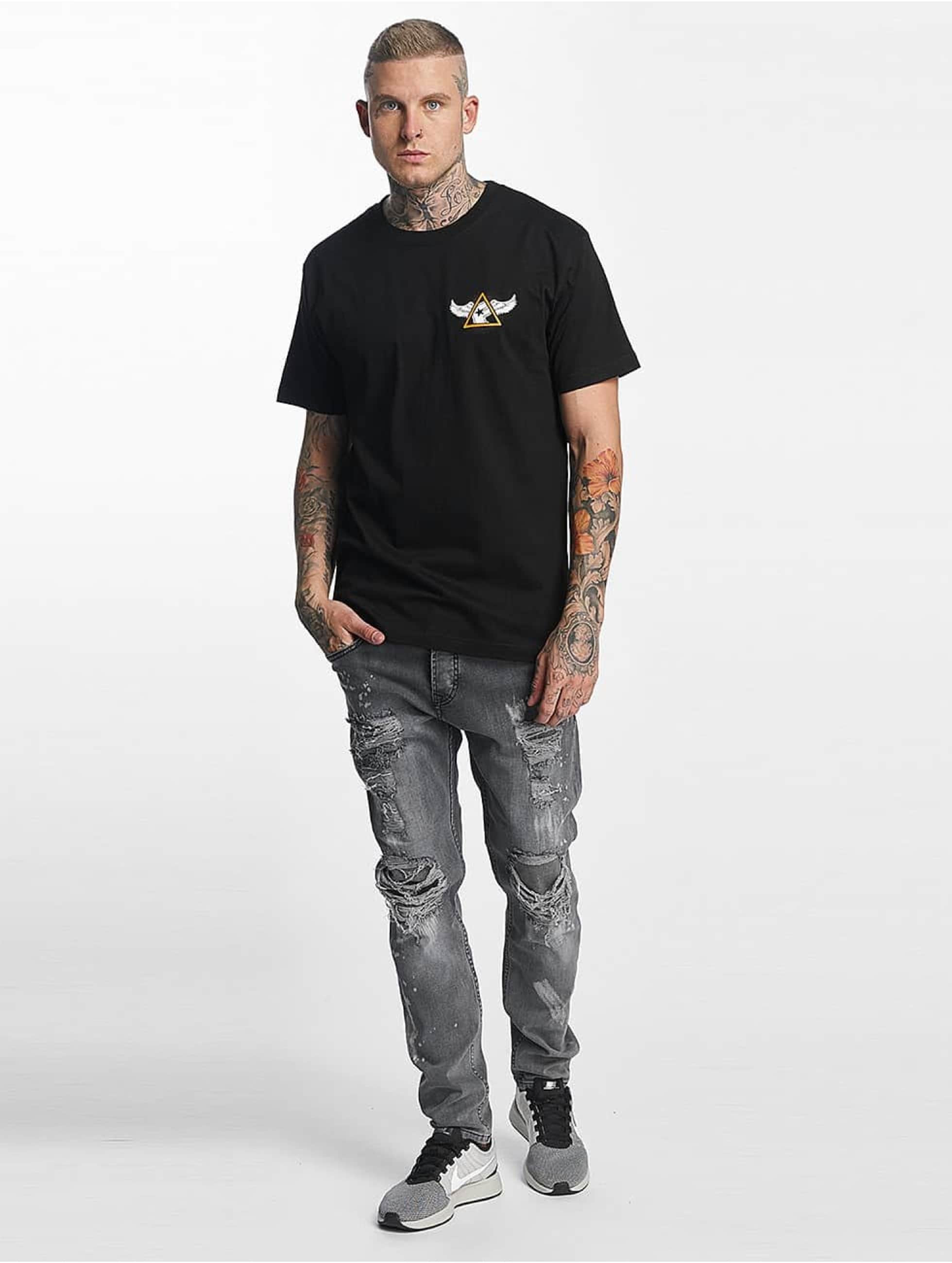 Famous Stars and Straps T-Shirty Pit Stop czarny