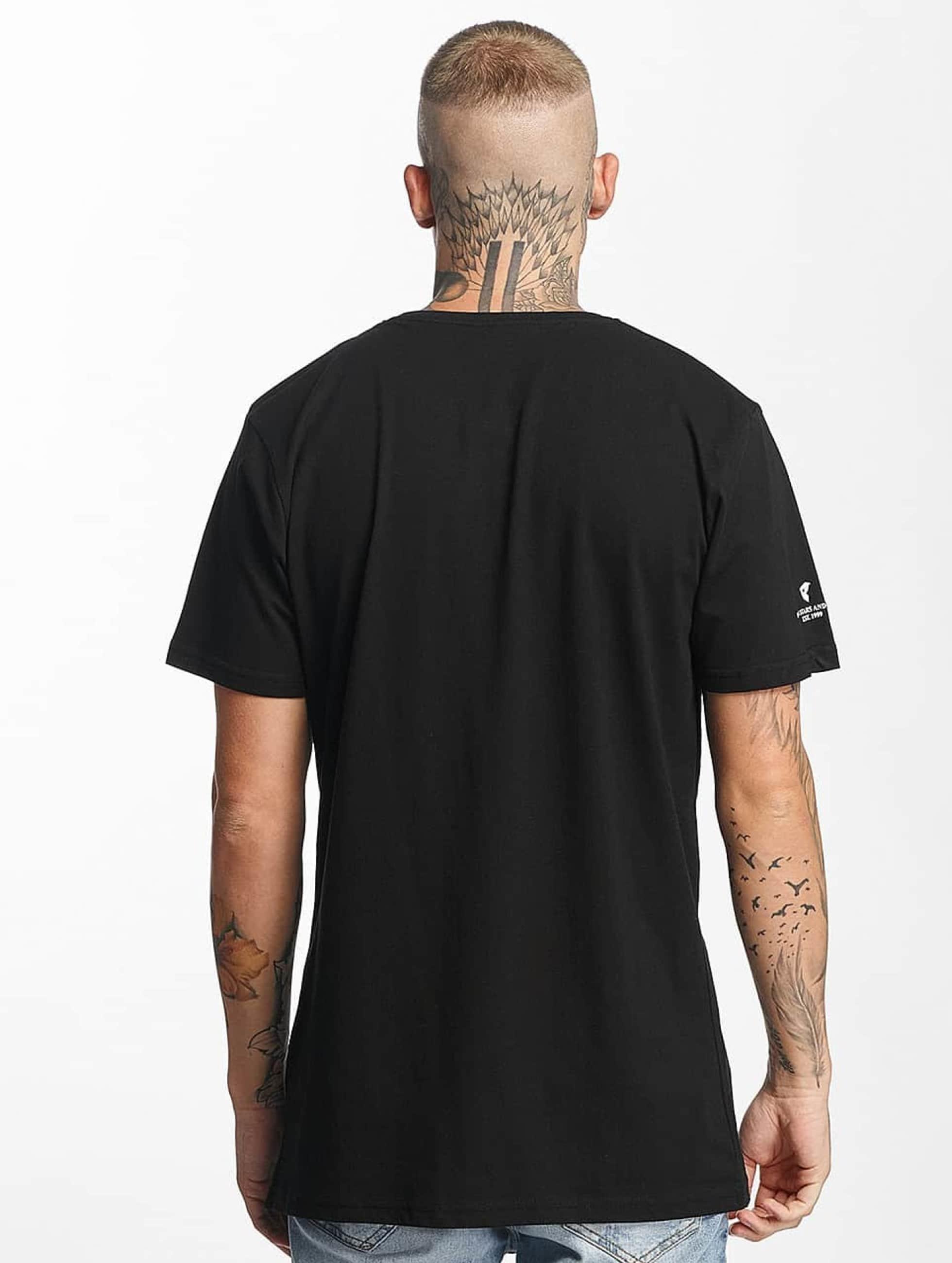 Famous Stars and Straps T-skjorter DTDT99 svart