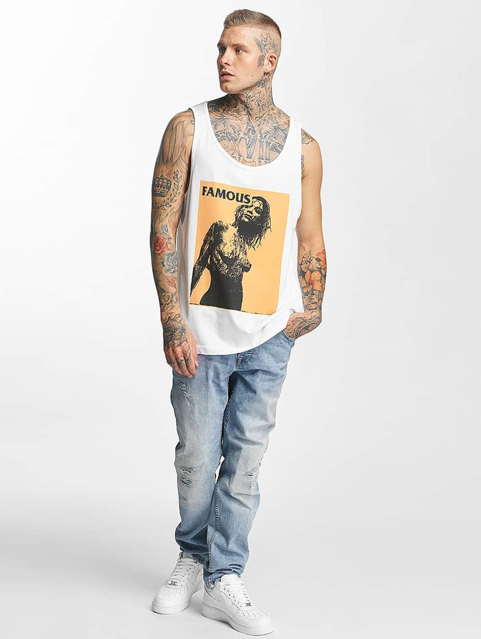 Famous Stars and Straps Tank Tops Horror Story bianco