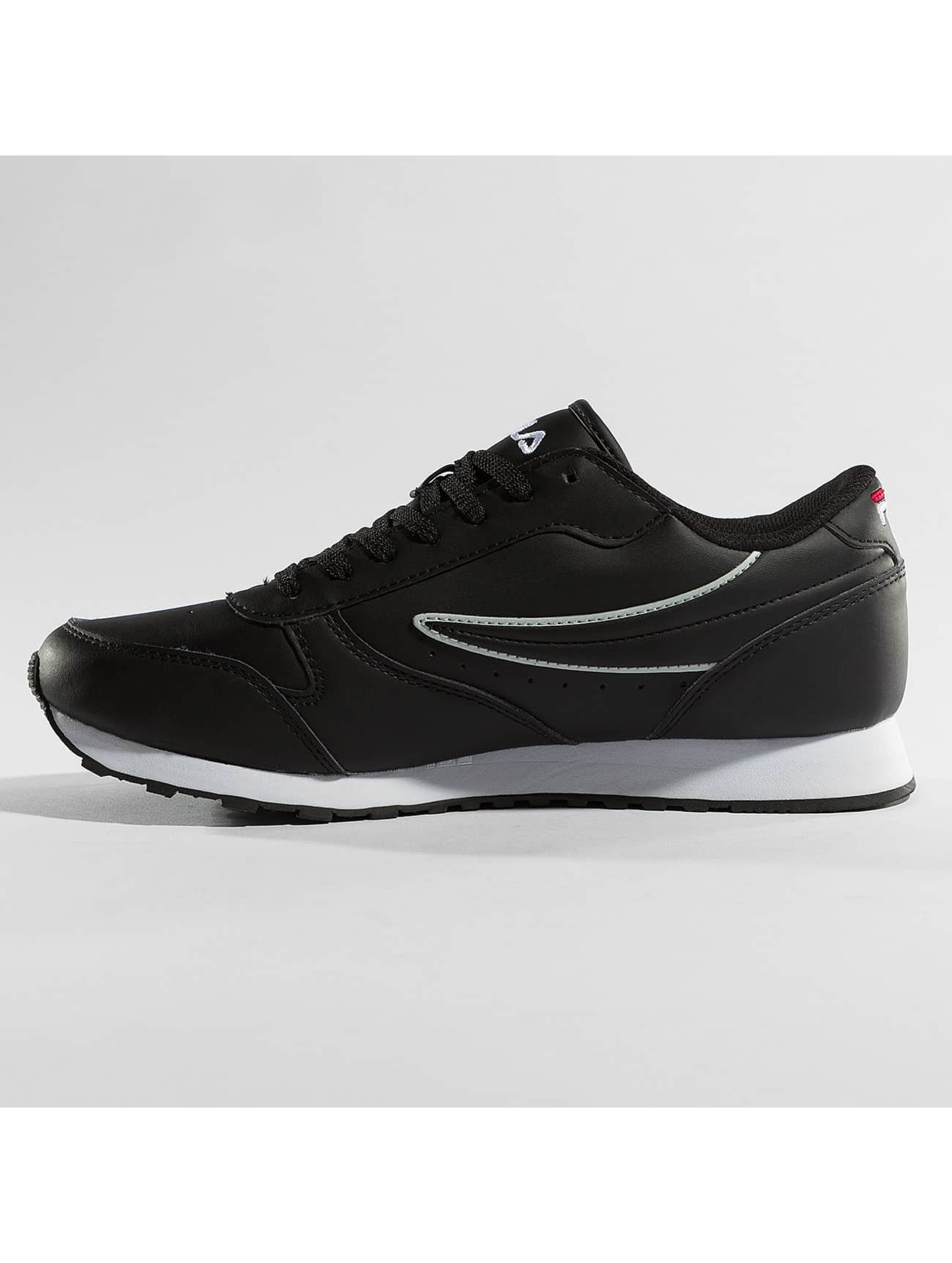 FILA Сникеры Orbit Low черный