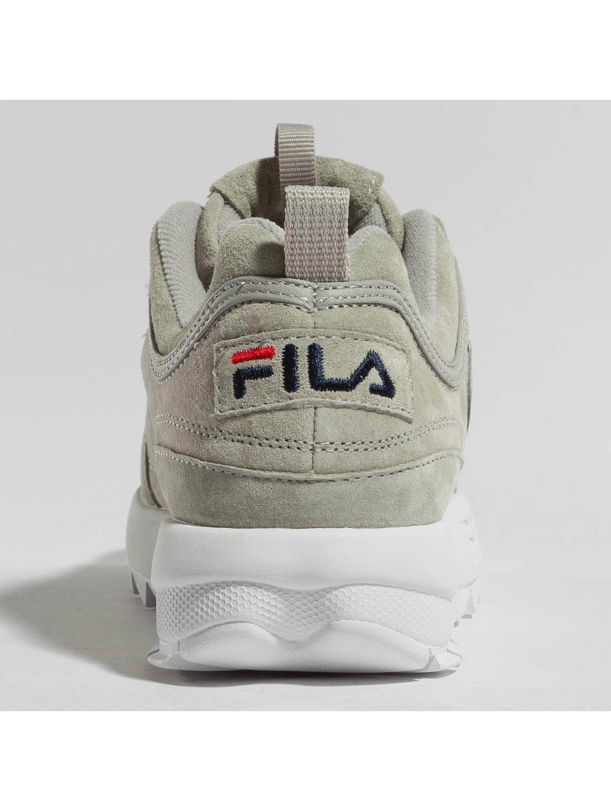 FILA Baskets Heritage Disruptor S Low gris