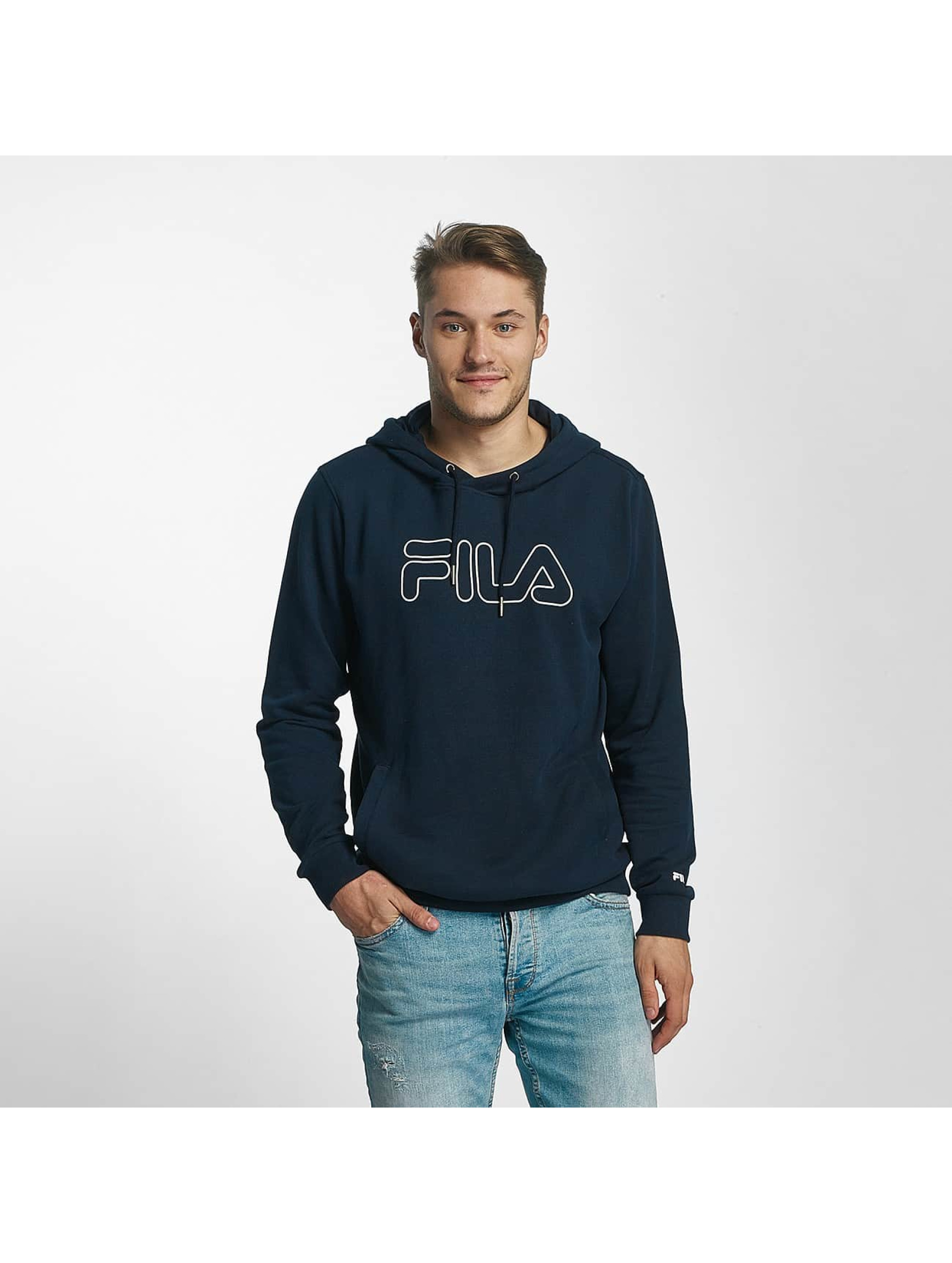 FILA Bluzy z kapturem Core Line niebieski