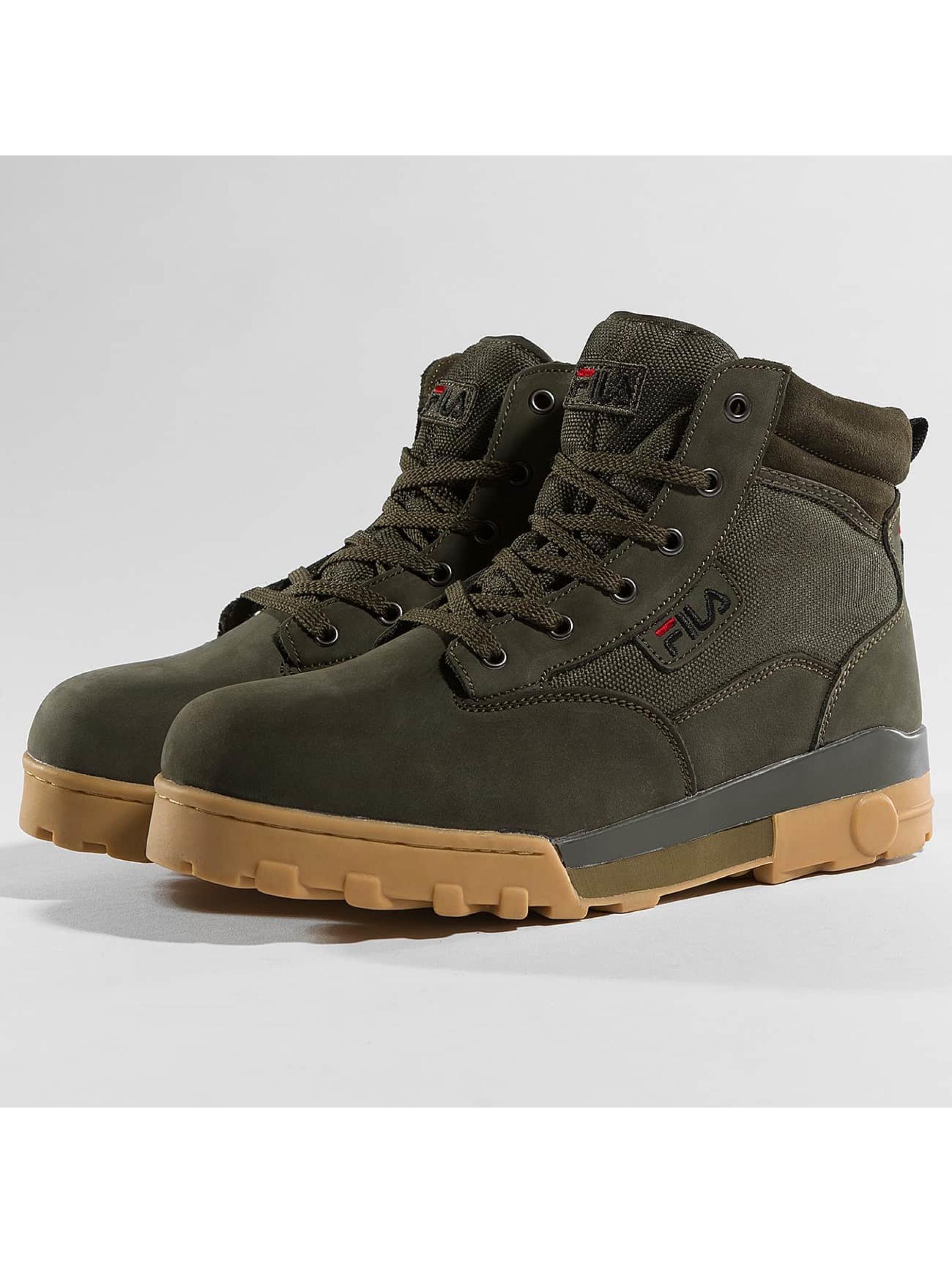 fila herren boots heritage grunge mid in olive 392131. Black Bedroom Furniture Sets. Home Design Ideas
