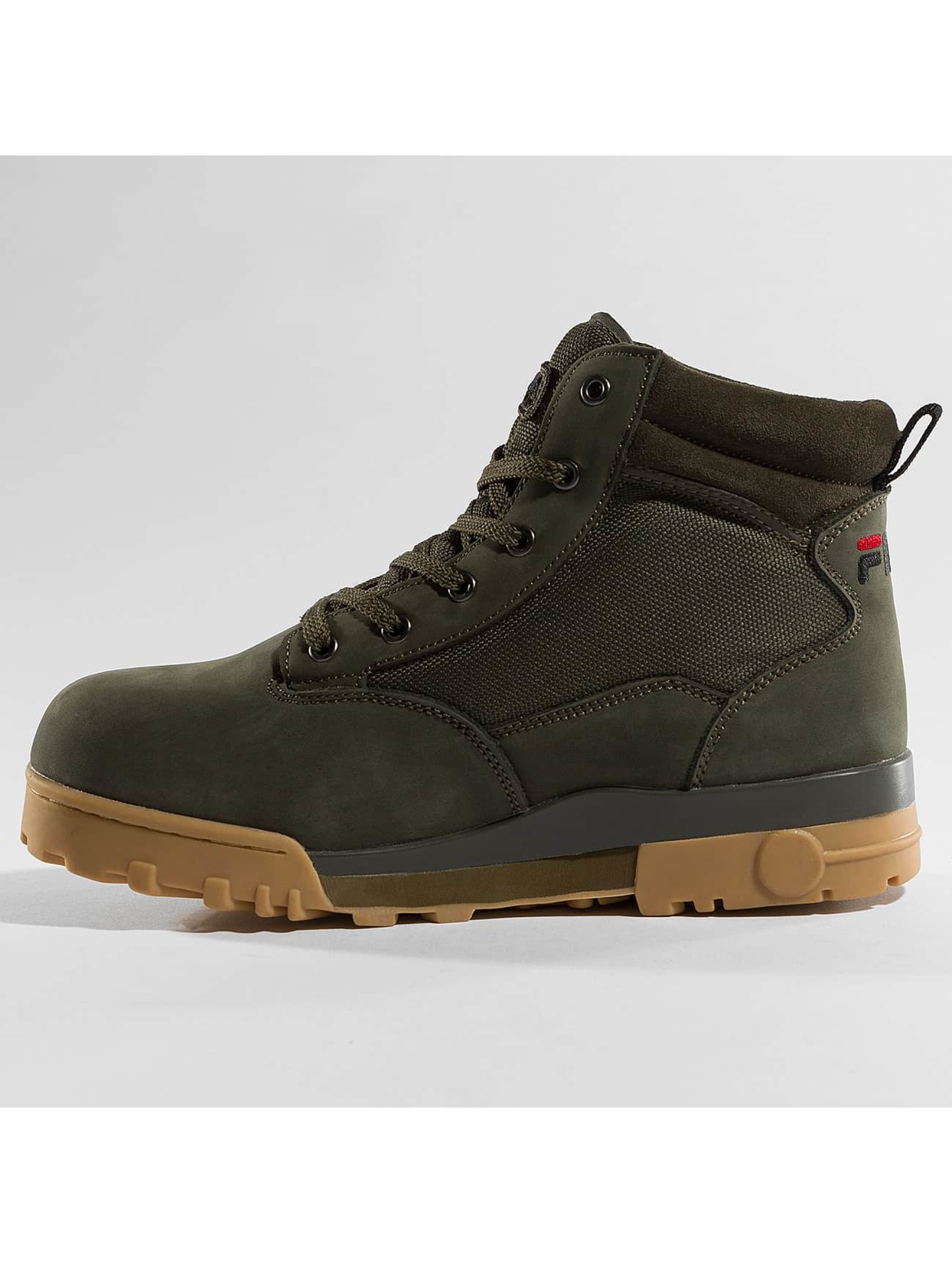 fila herren boots heritage grunge mid in olive 392131. Black Bedroom Furniture Sets. Home Design Ideas