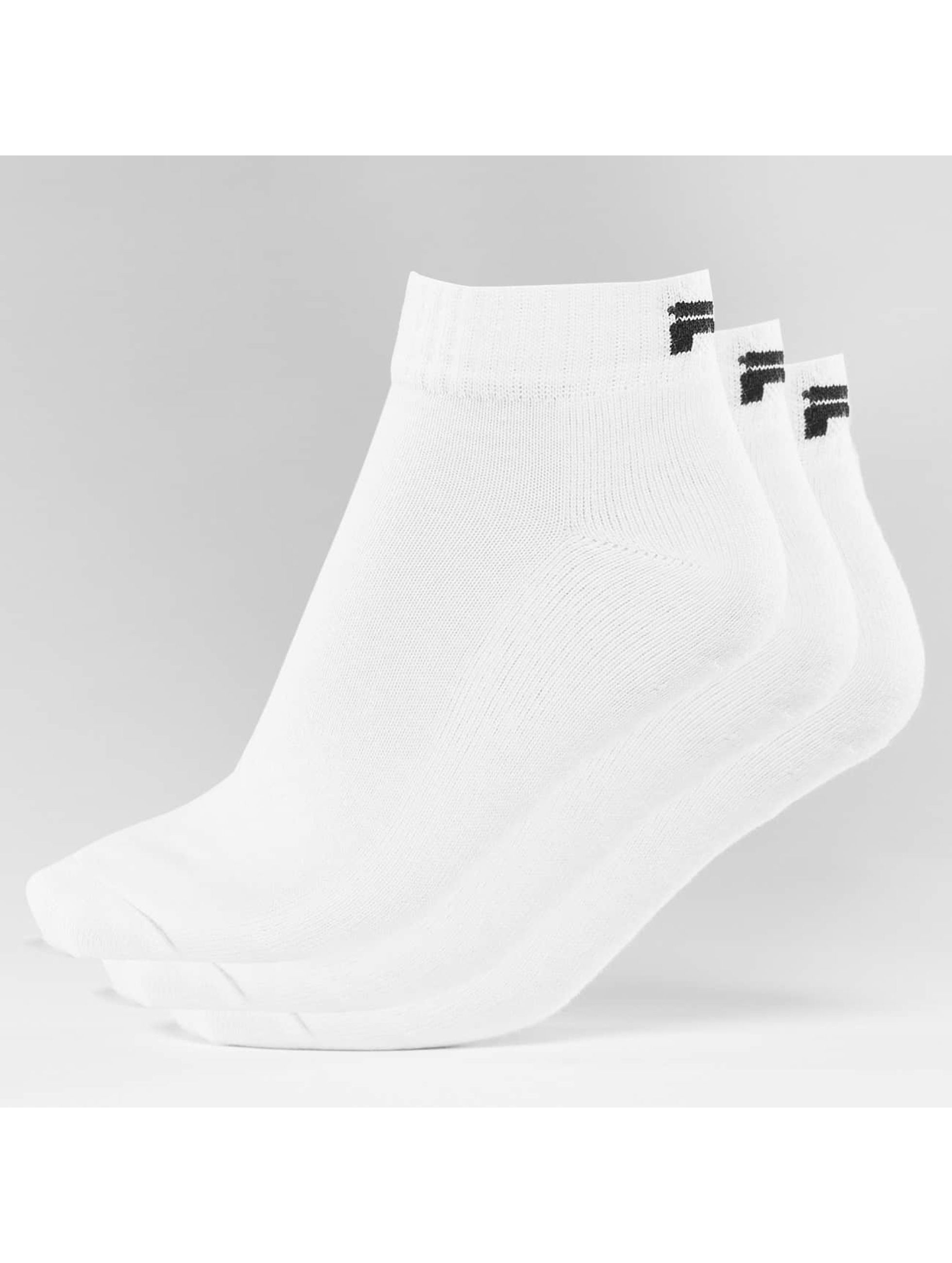 FILA Calcetines 3-Pack blanco