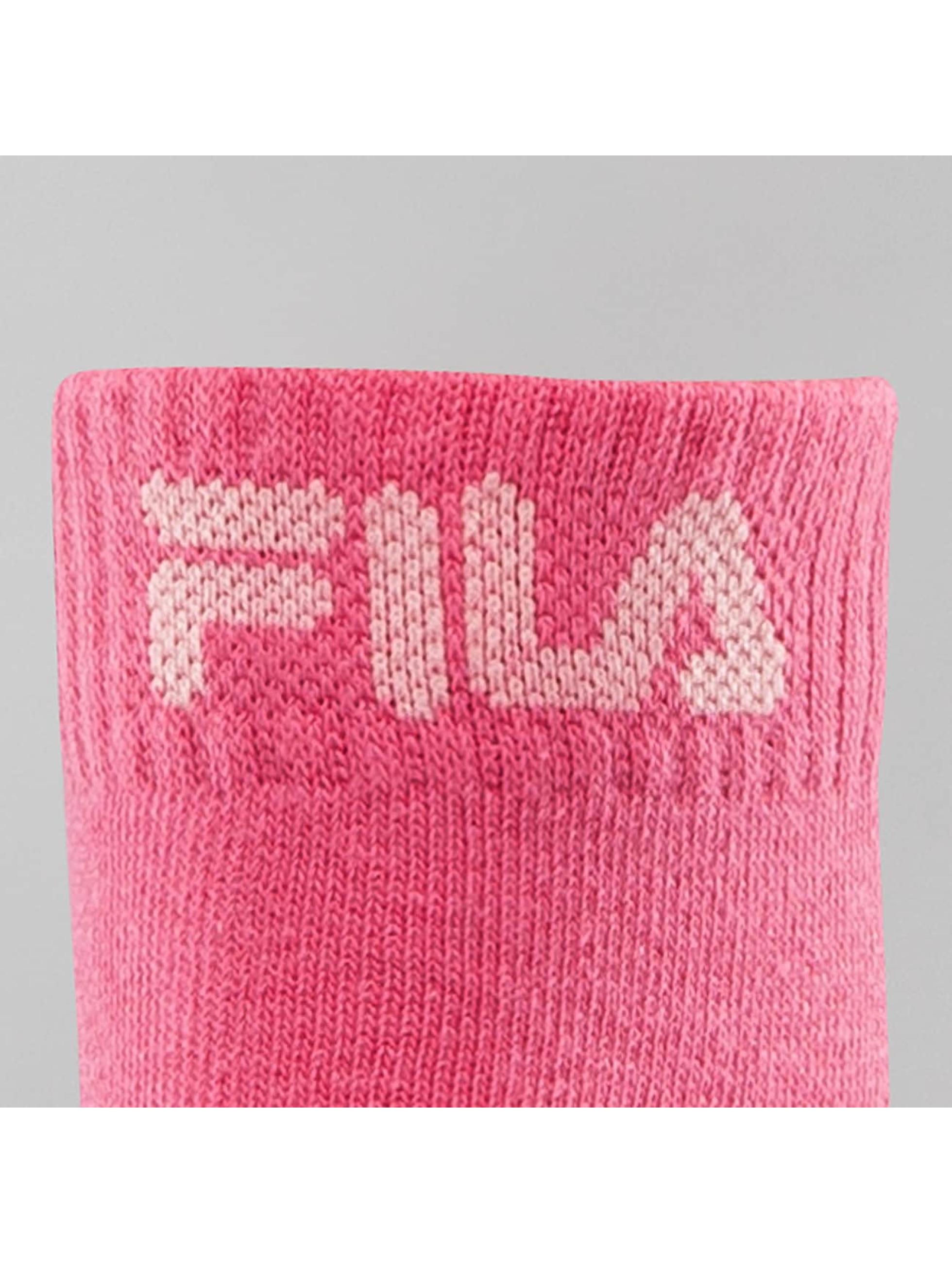 FILA Calcetines 3-Pack fucsia