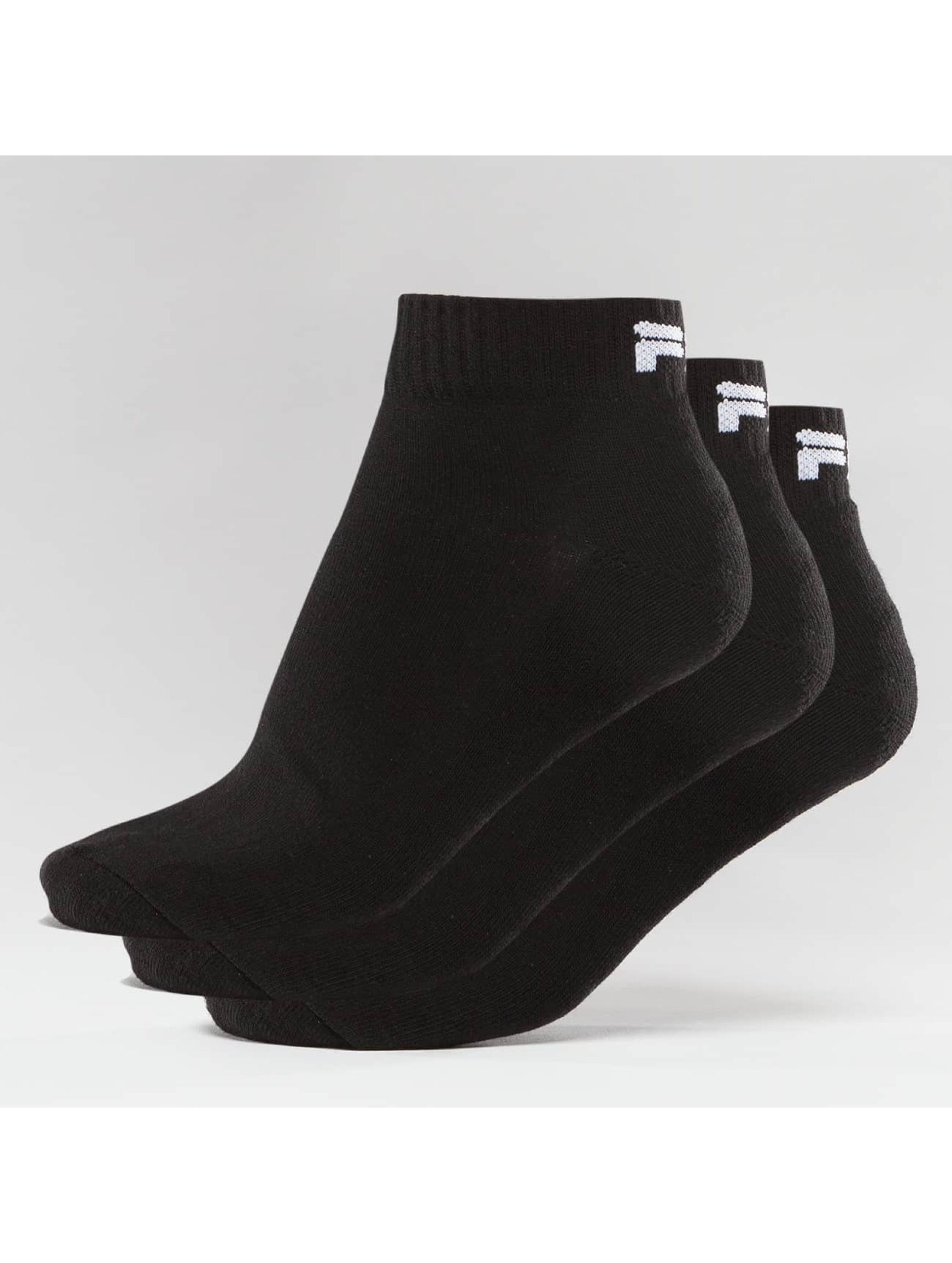 FILA Chaussettes 3-Pack noir
