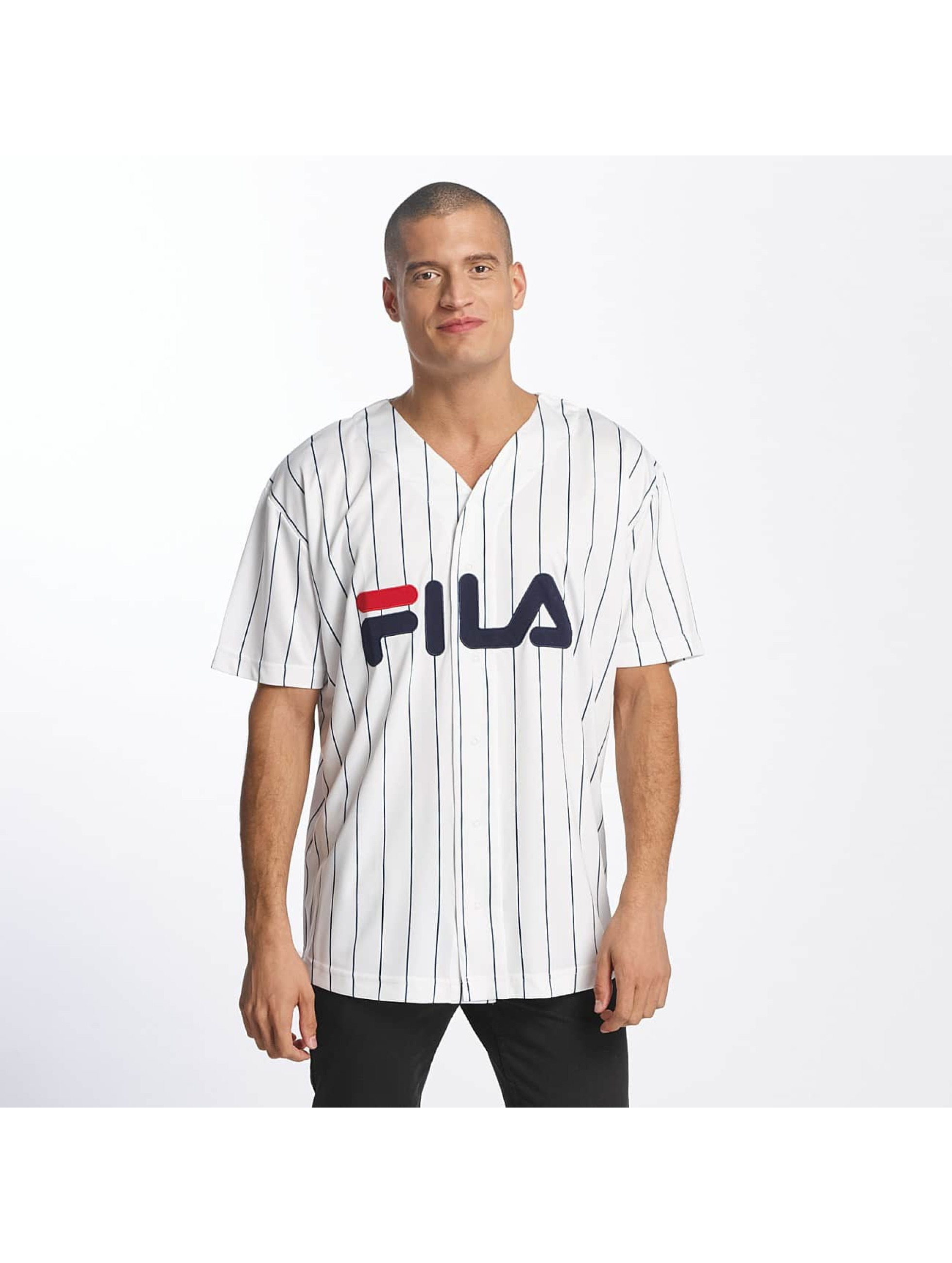 fila urban line baseball dawn blanc homme chemise 381872. Black Bedroom Furniture Sets. Home Design Ideas
