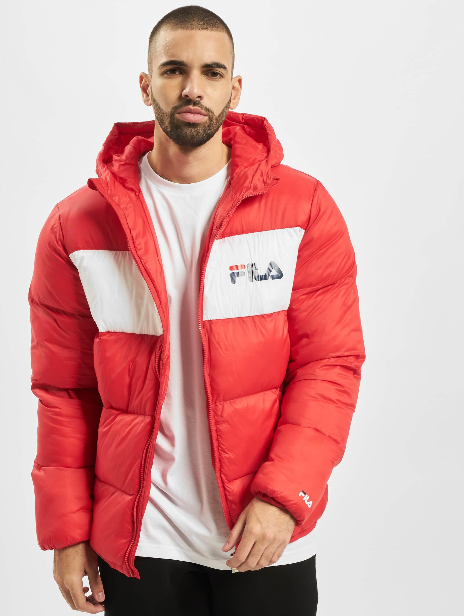 FILA jas Gewatteerde jassen Floyd Puff in rood 699720