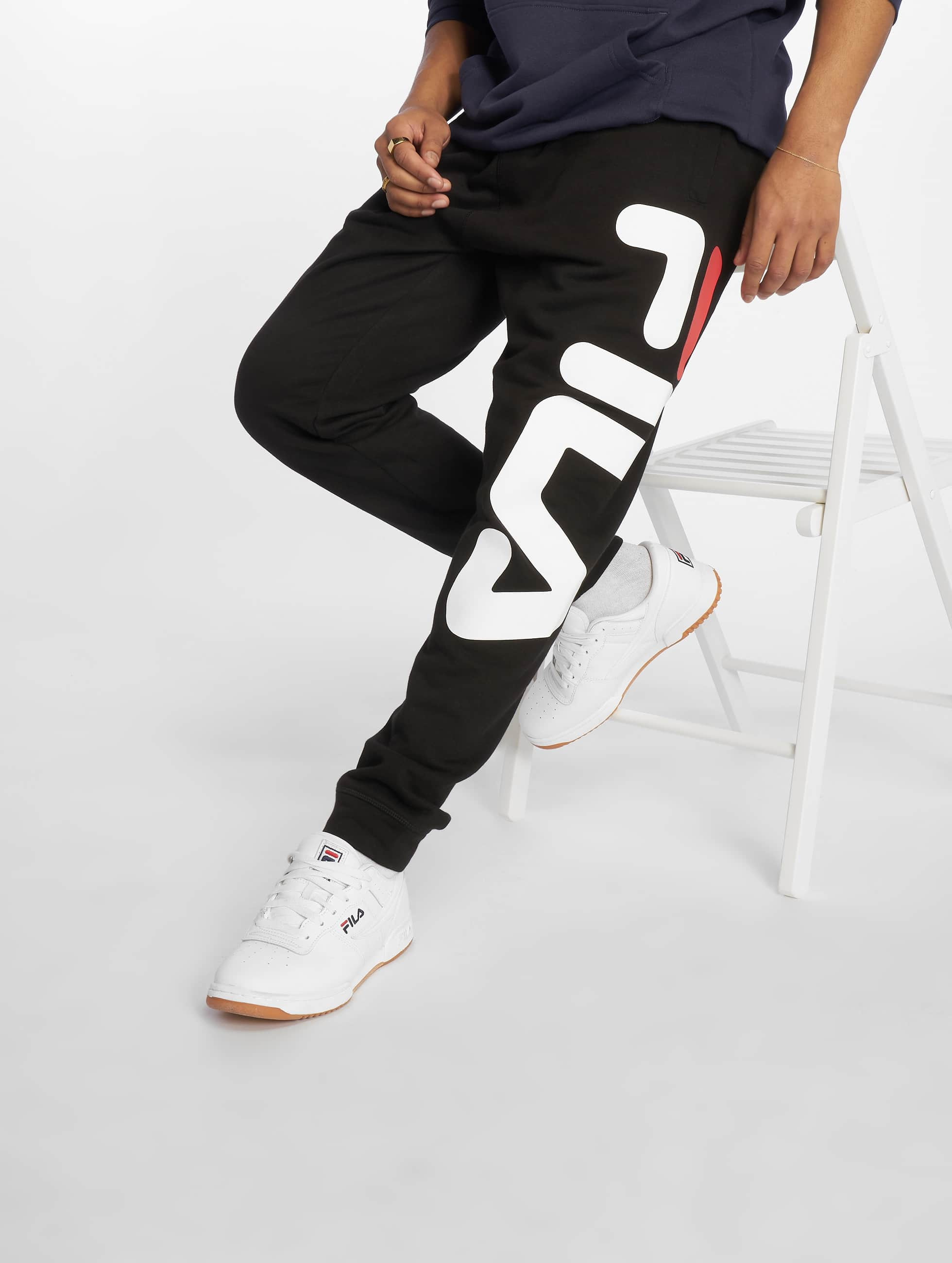 366bcf5fd2d FILA broek / joggingbroek Urban Line Basic in zwart 632720