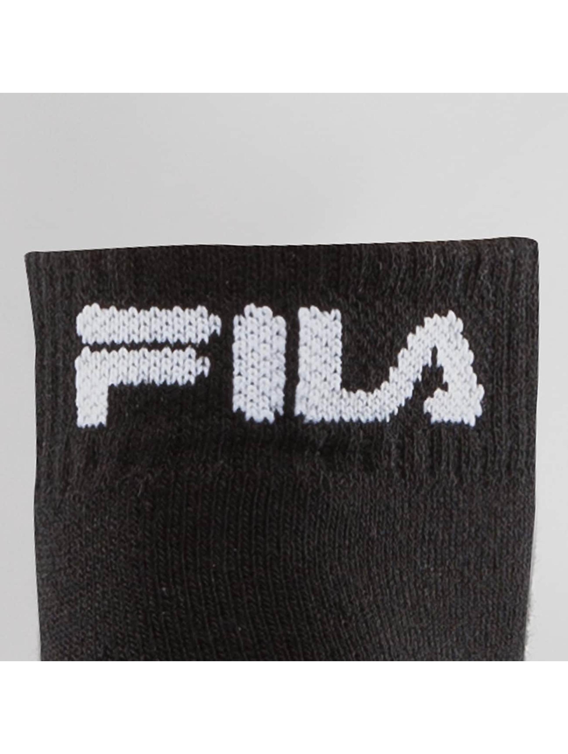 FILA Ponožky 3-Pack čern