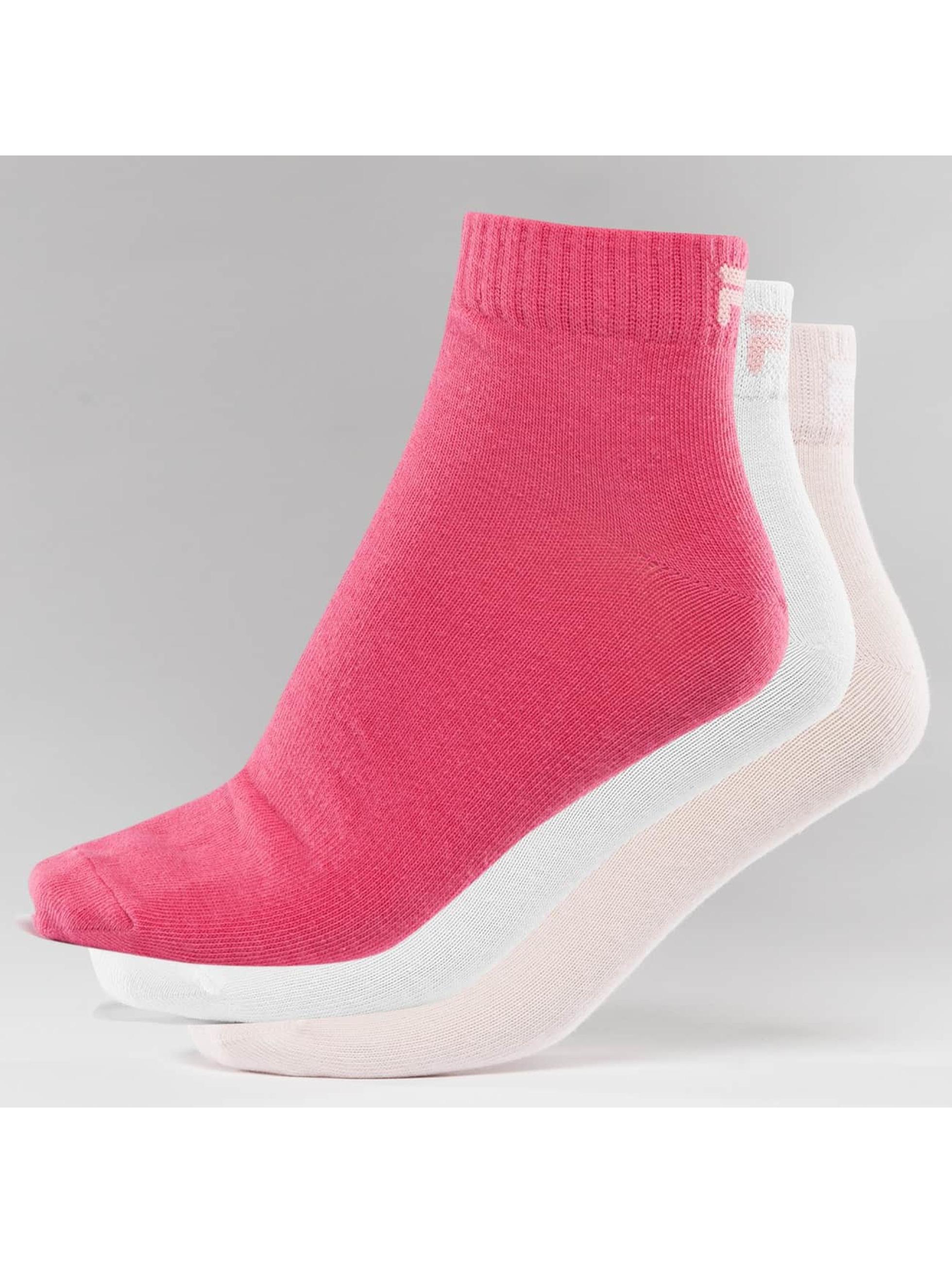 FILA Ponožky 3-Pack růžový