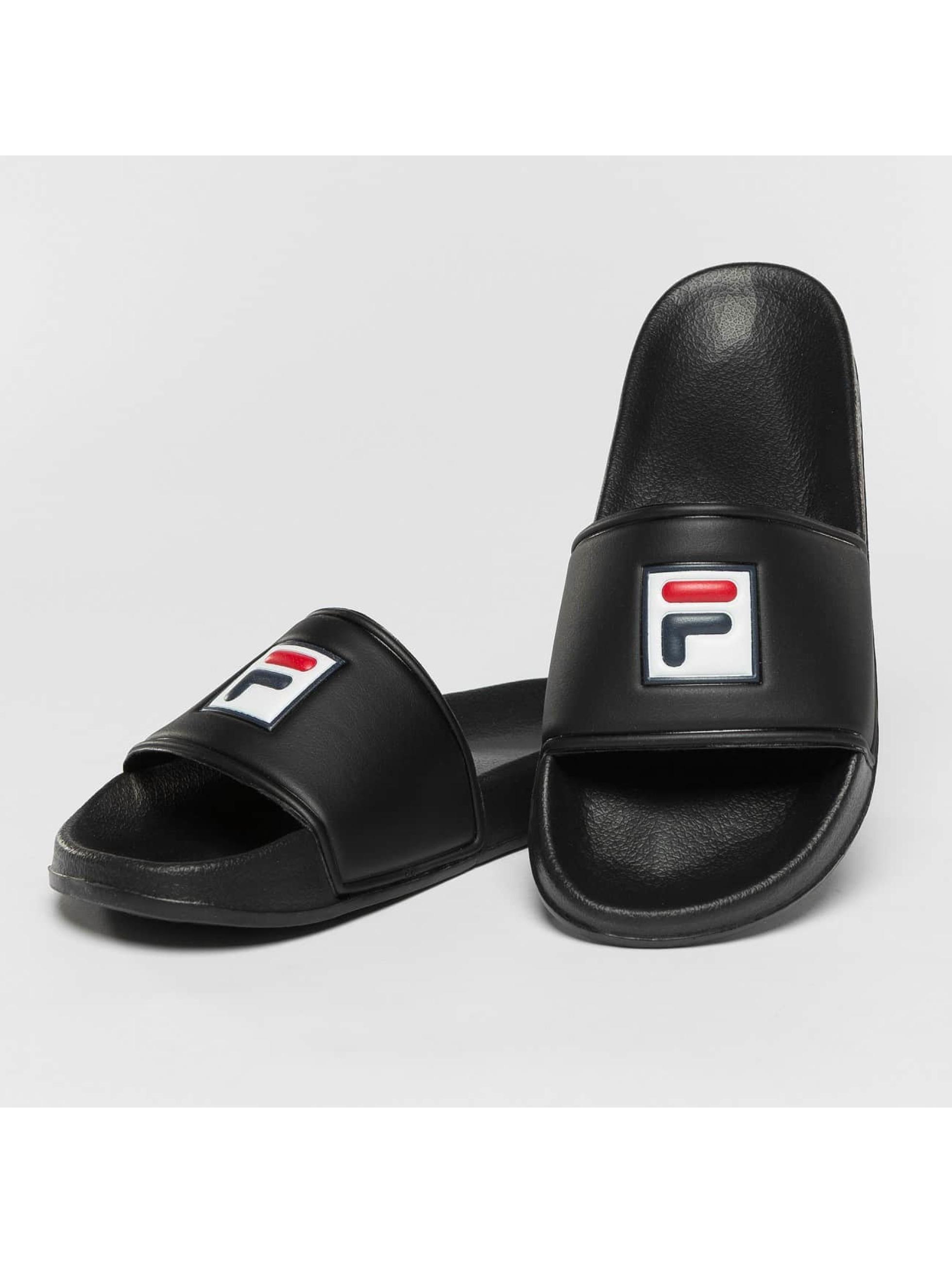 FILA Slipper/Sandaal Base Palm Beach zwart