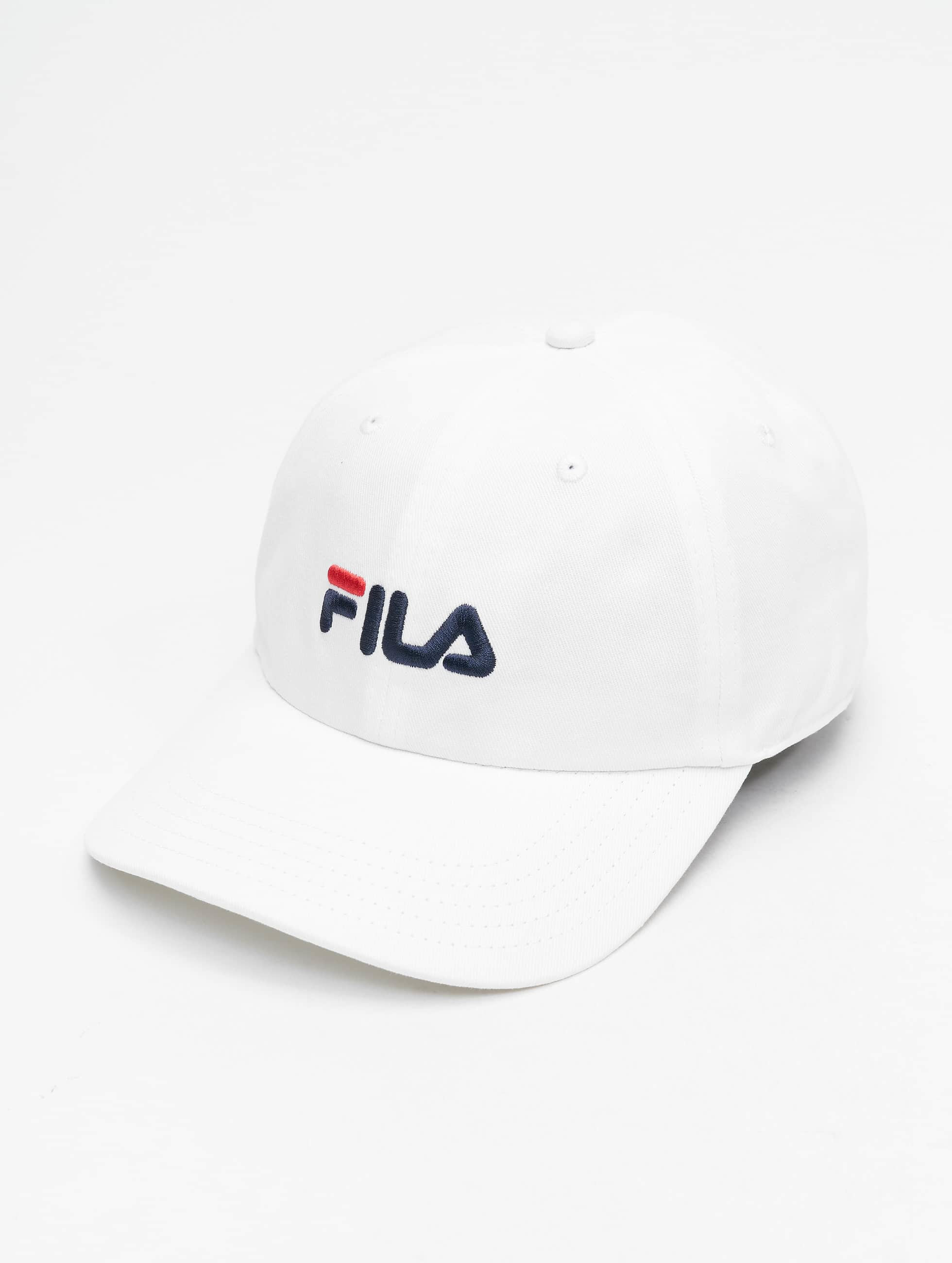 Fila Urban Line 6 Panel Strapback Cap Bright White