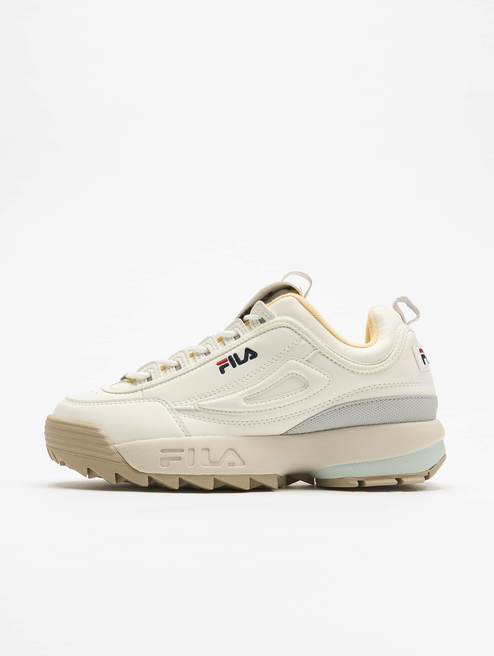Fila Heritage Disruptor CB Low Sneakers Marshmallow/Grey Violet
