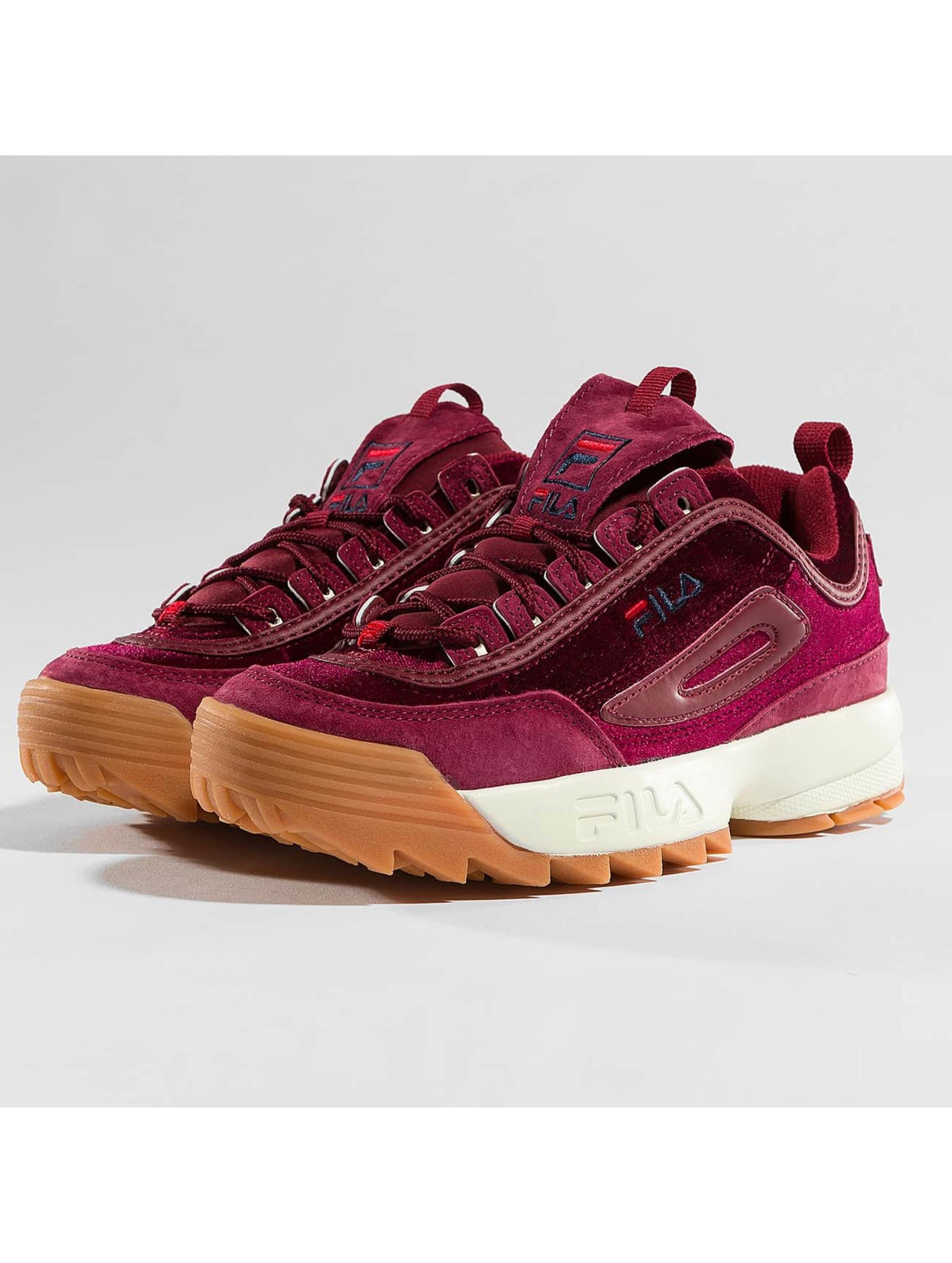 FILA Sneakers Heritage Disruptor czerwony