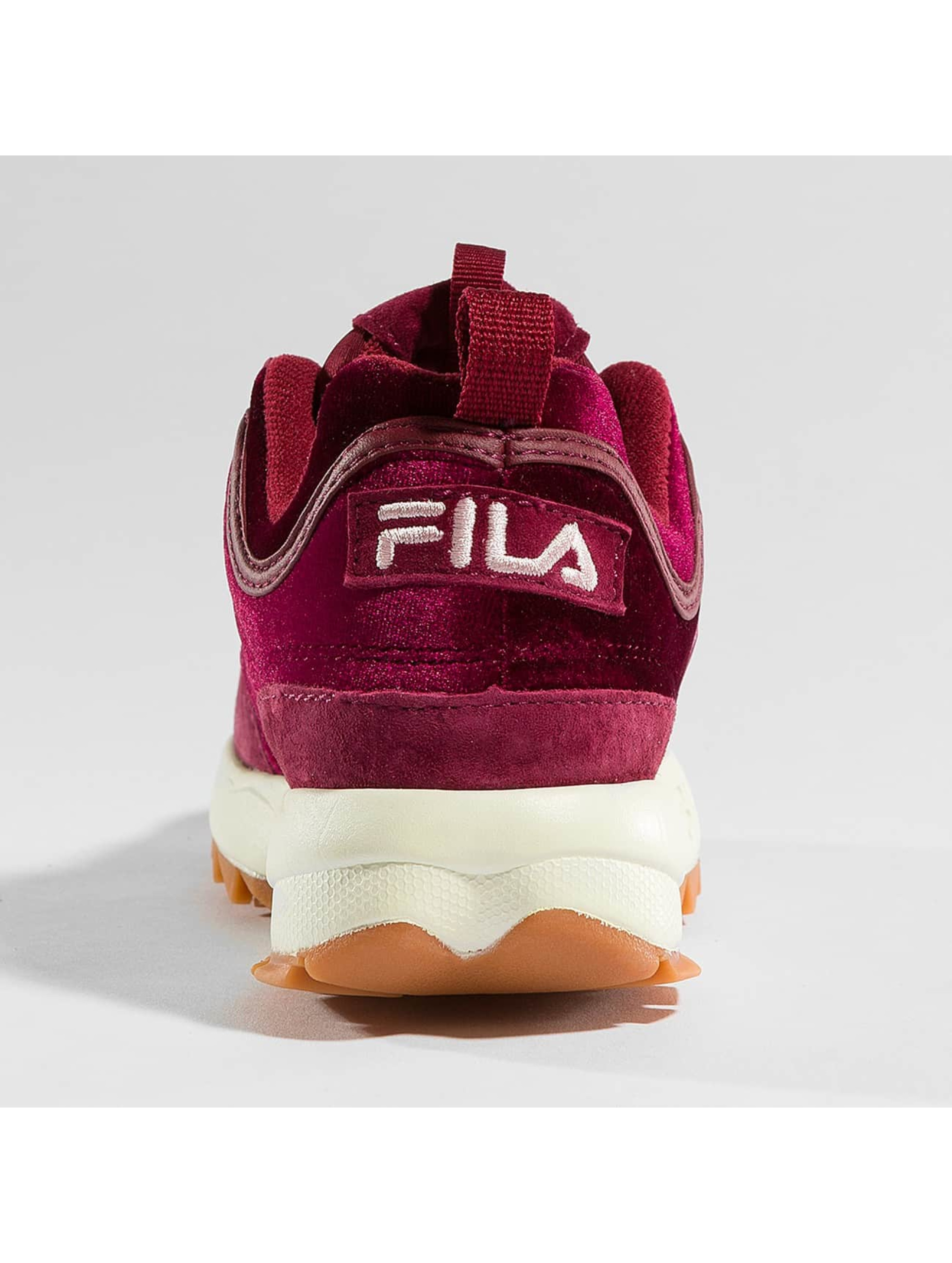 FILA Sneakers Heritage Disruptor red
