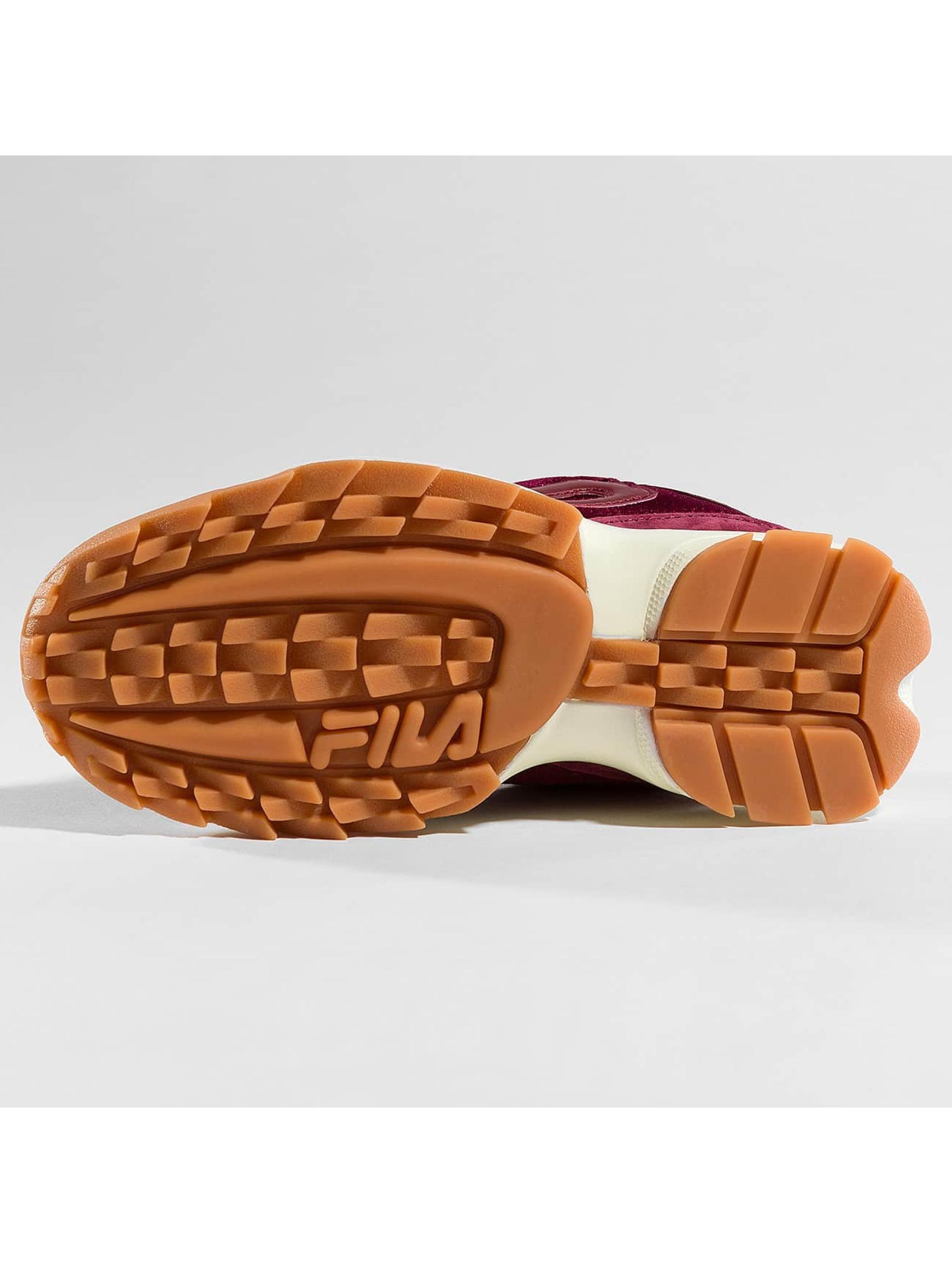 FILA Sneakers Heritage Disruptor röd