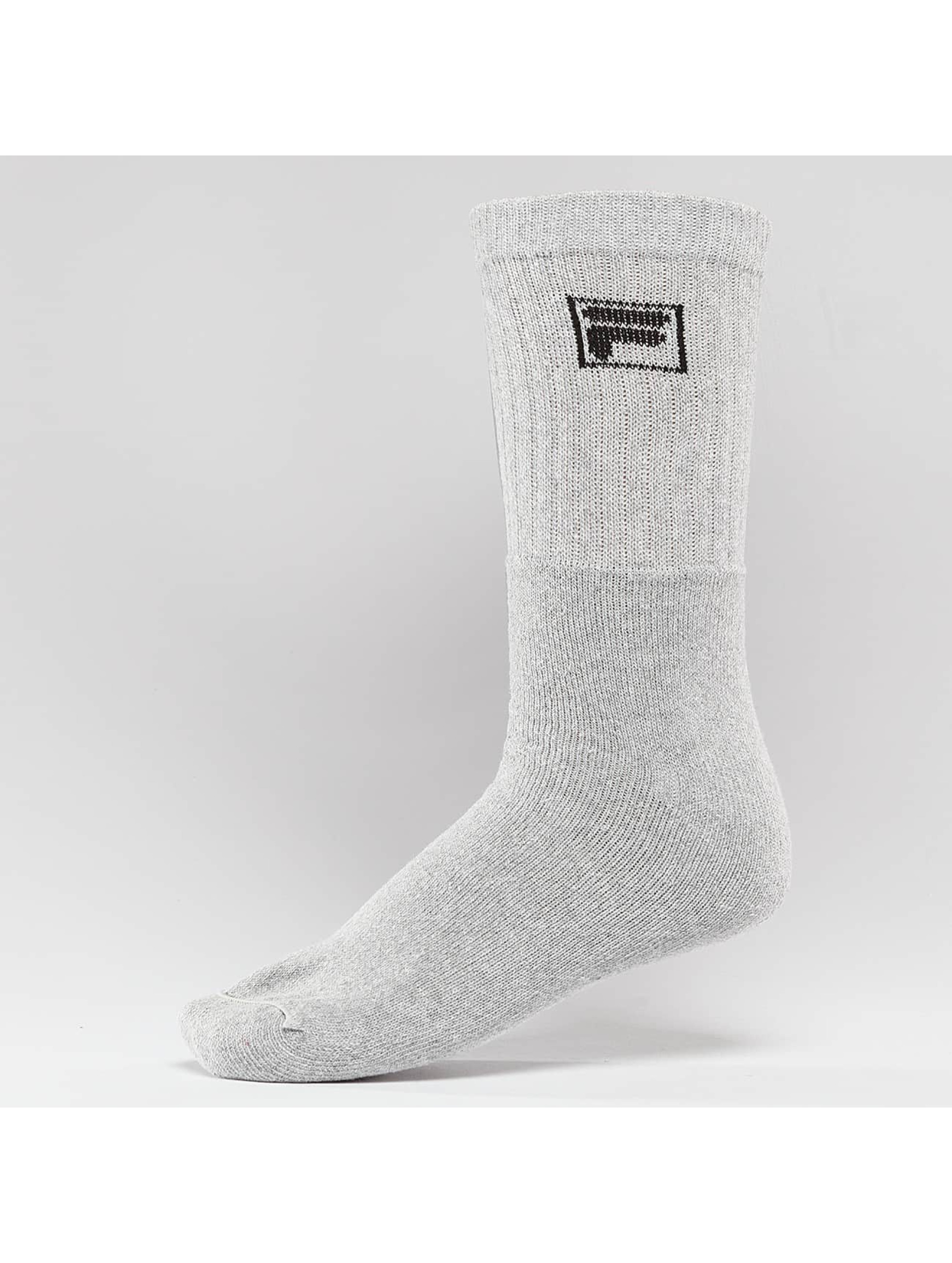 FILA Socks 3-Pack Sport gray