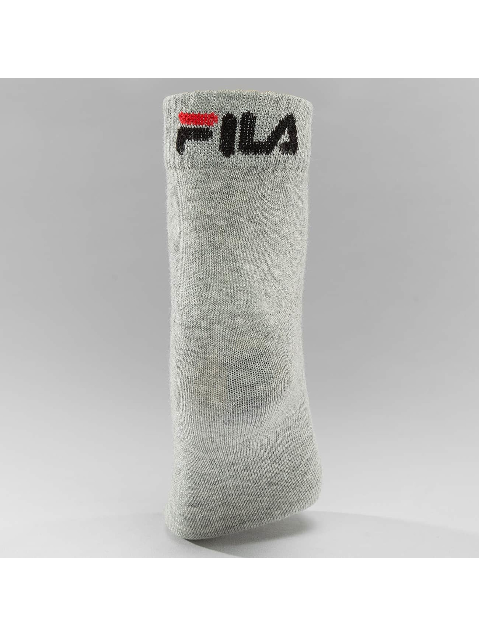 FILA Socks 3-Pack Training grey