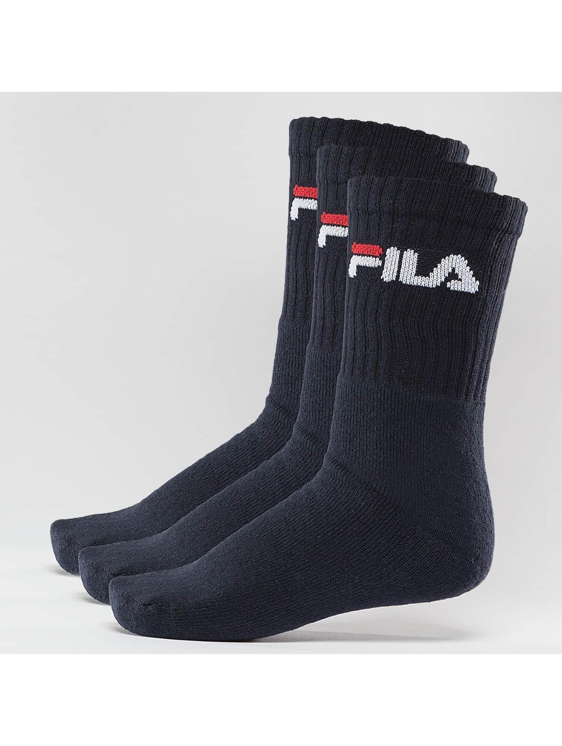 FILA Sokken 3-Pack blauw